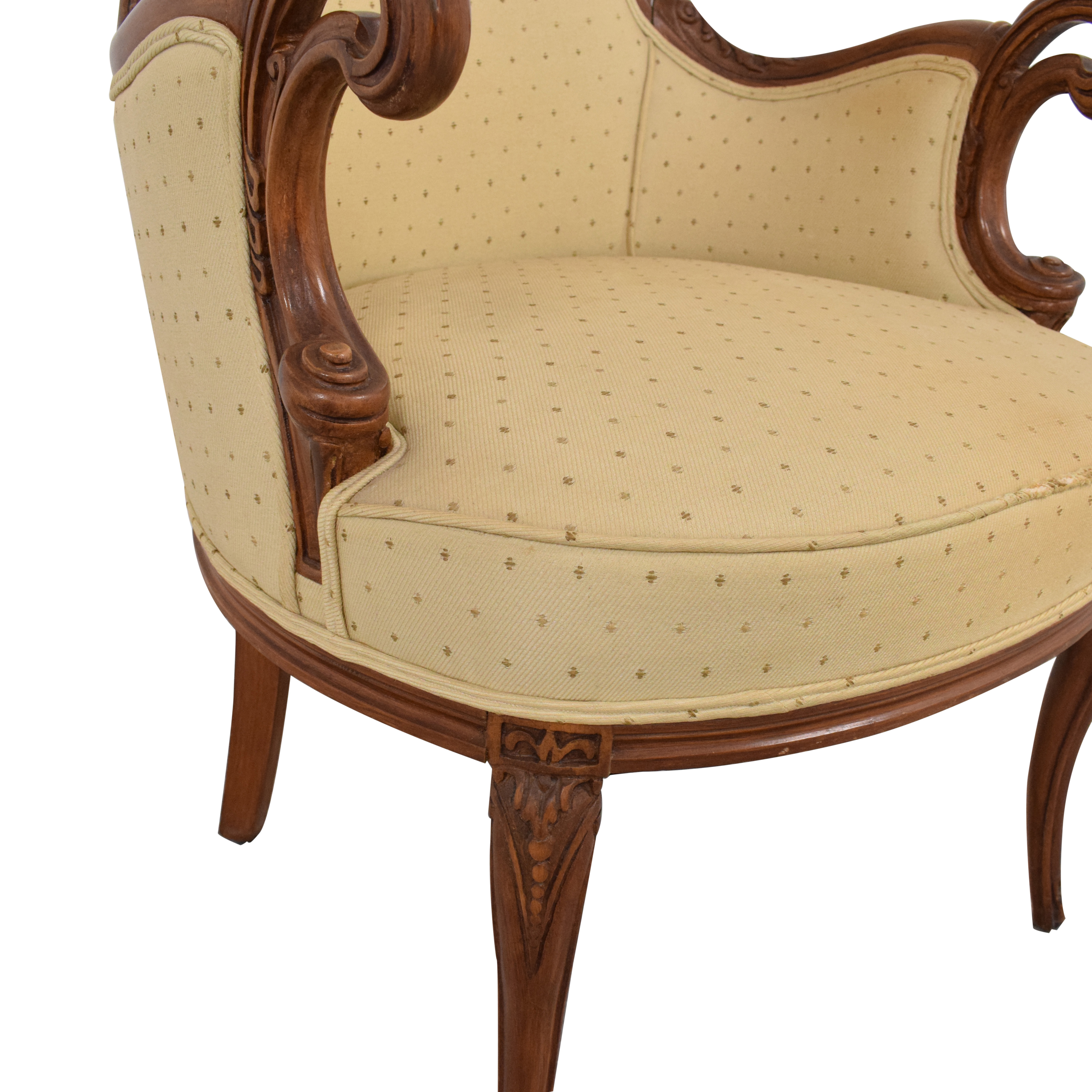 shop French Provincial Style Arm Chair