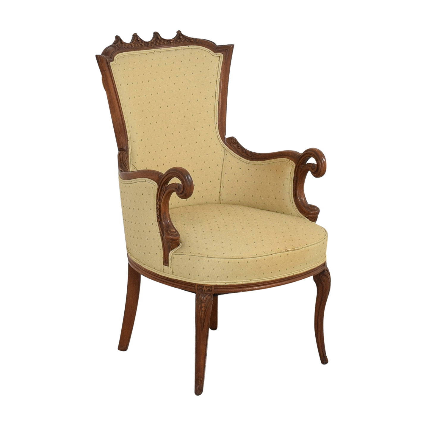French Provincial Style Arm Chair nyc