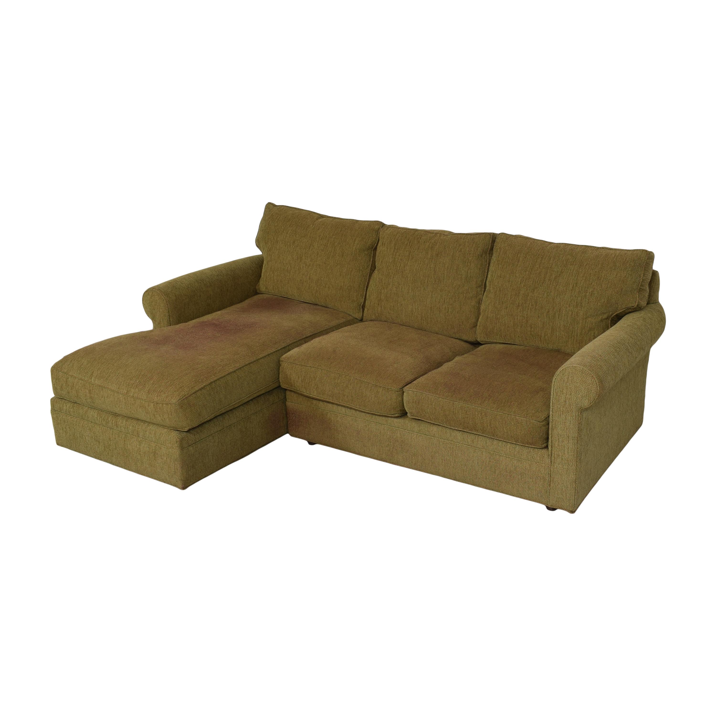 buy Crate & Barrel Huntley Sectional Crate & Barrel Sofas