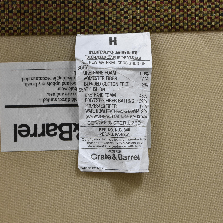 shop Crate & Barrel Huntley Sectional Crate & Barrel