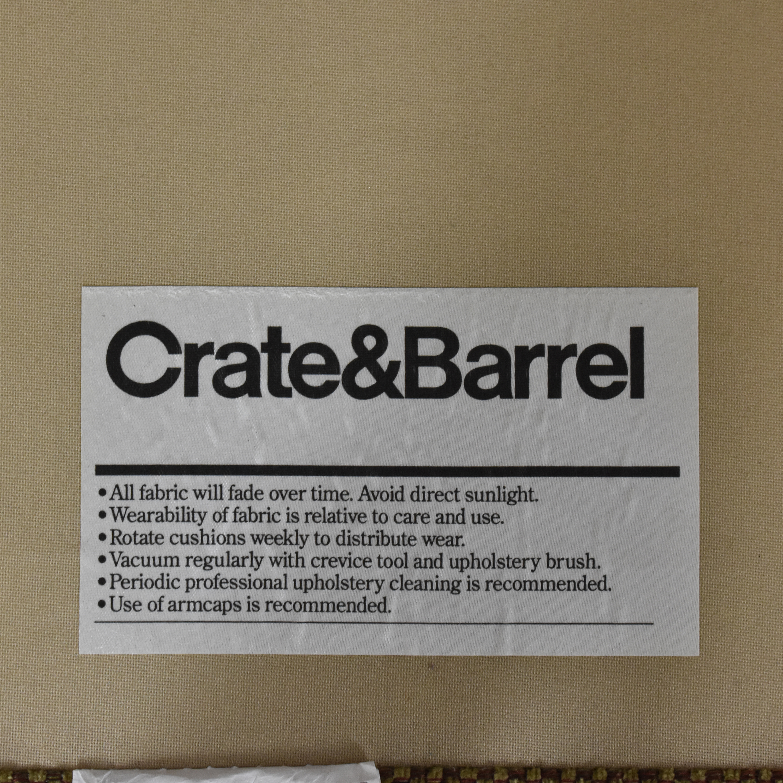 buy Crate & Barrel Huntley Sectional Crate & Barrel
