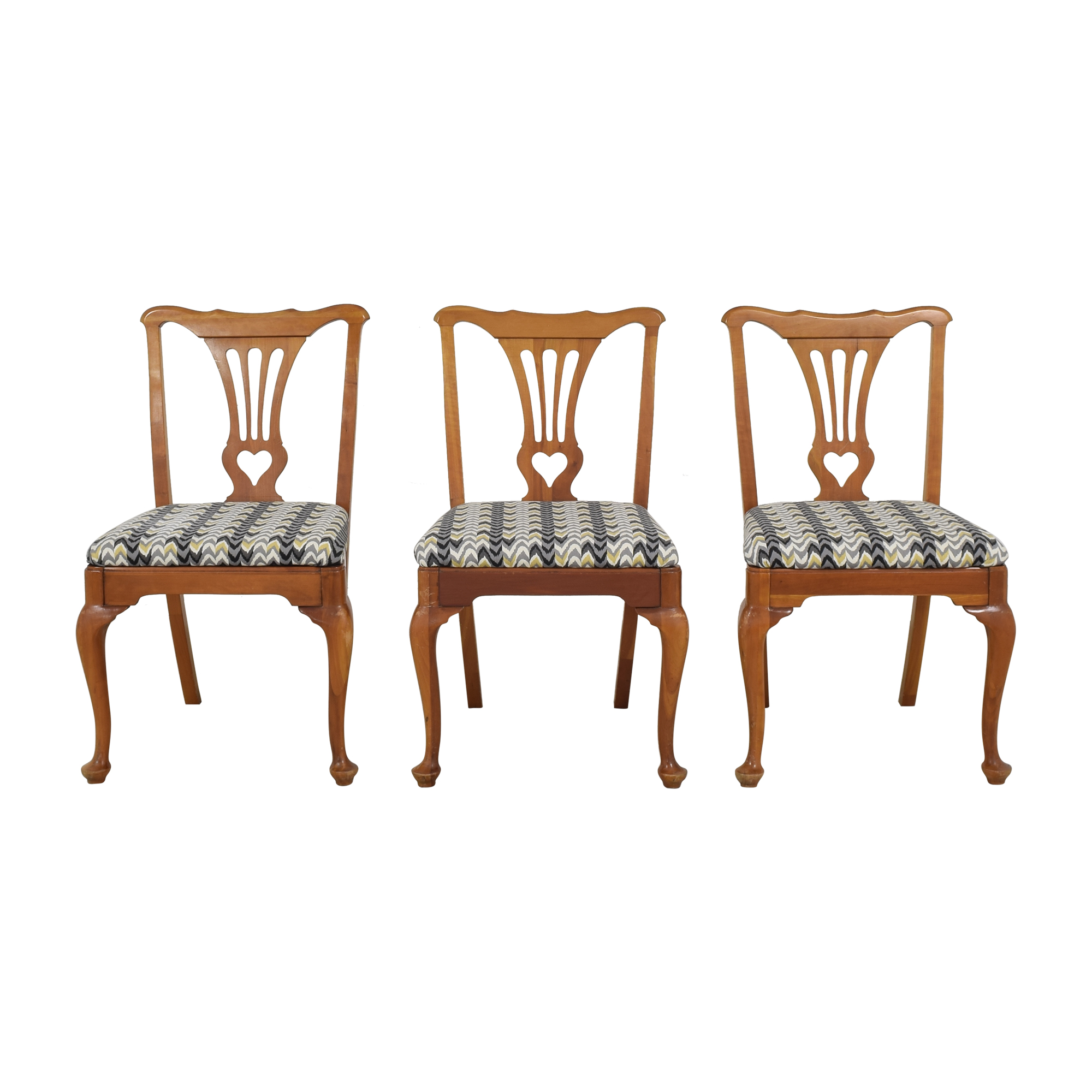 Queen Anne Style Dining Chairs sale
