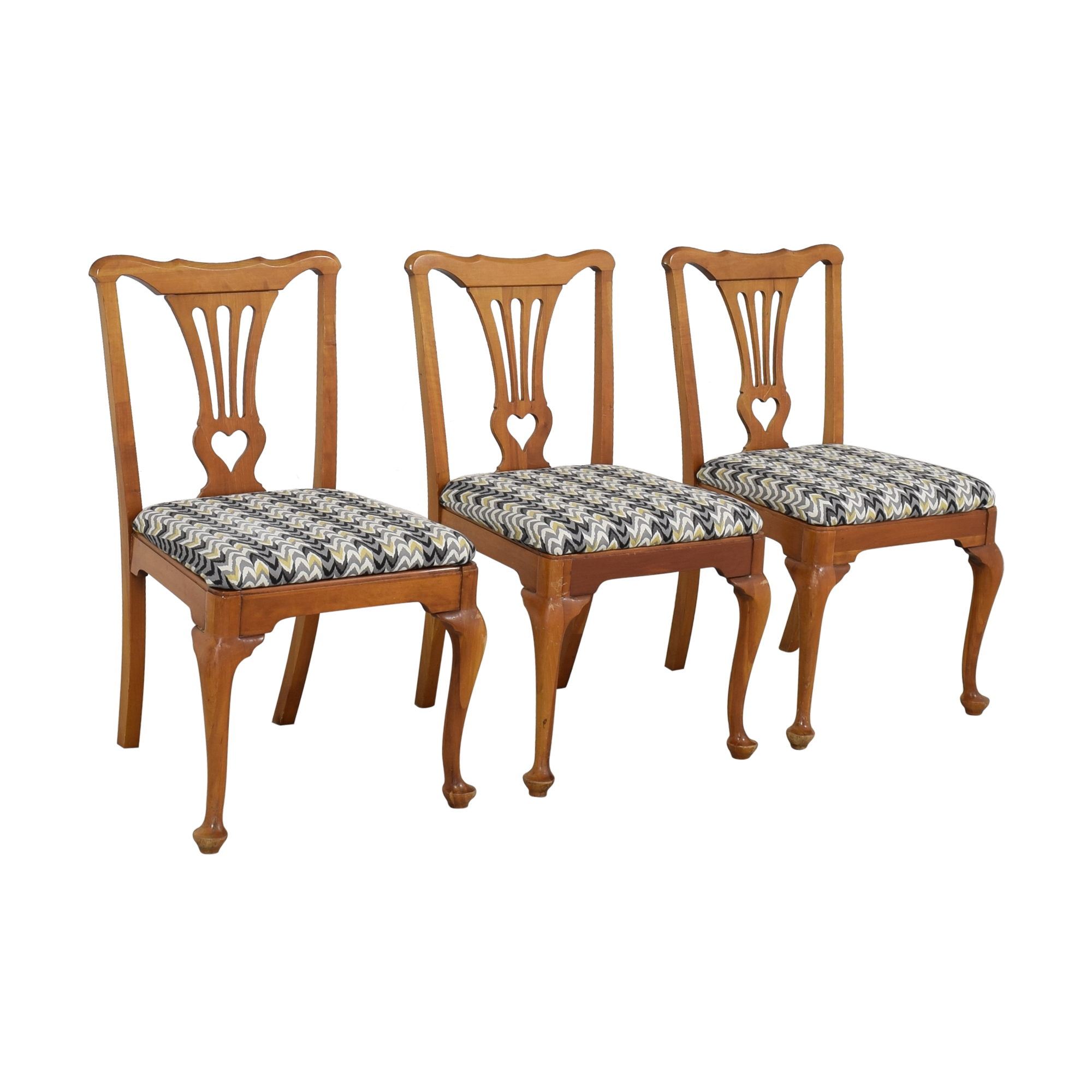 Queen Anne Style Dining Chairs used
