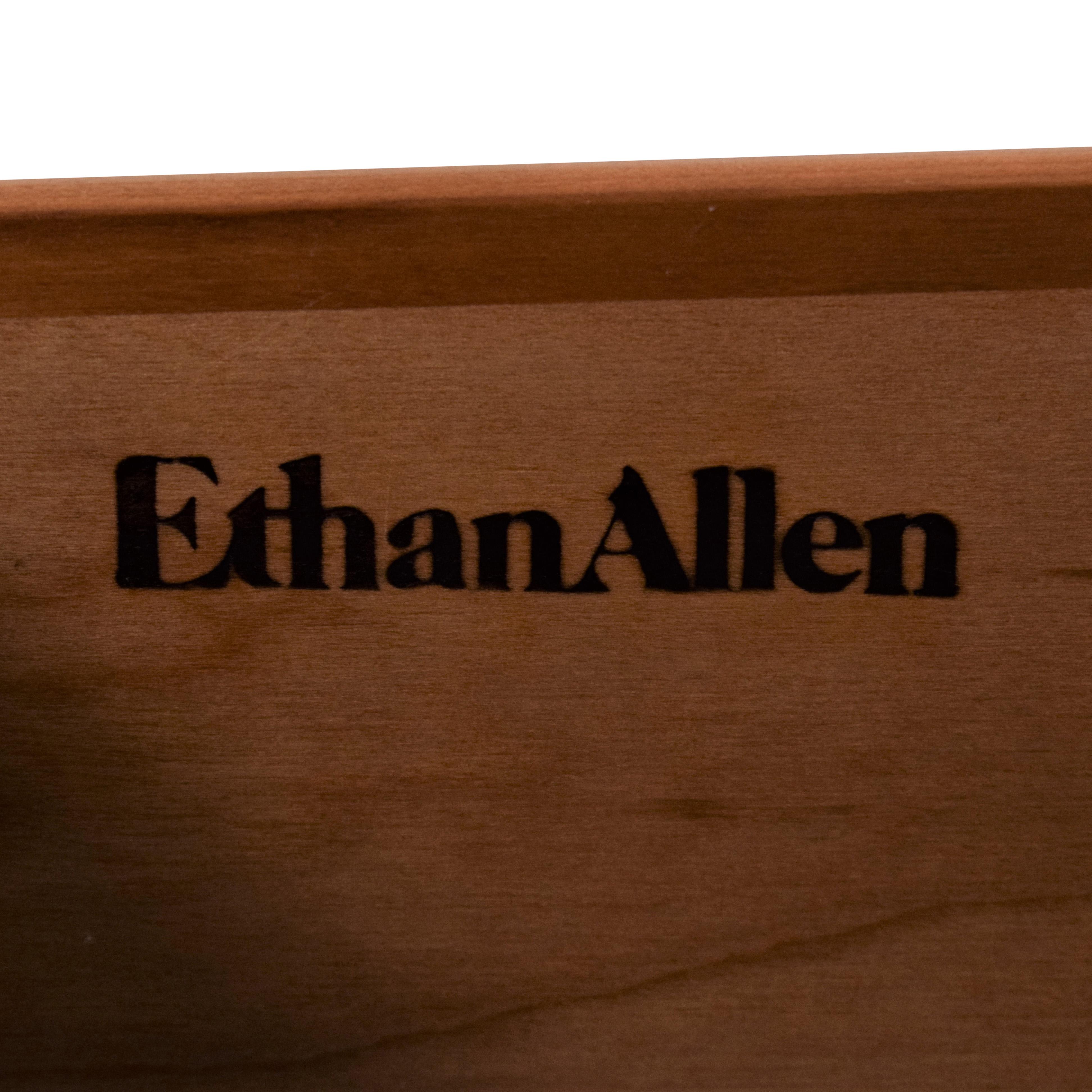 Ethan Allen Ethan Allen Queen Anne Style Lowboy Sideboard dimensions