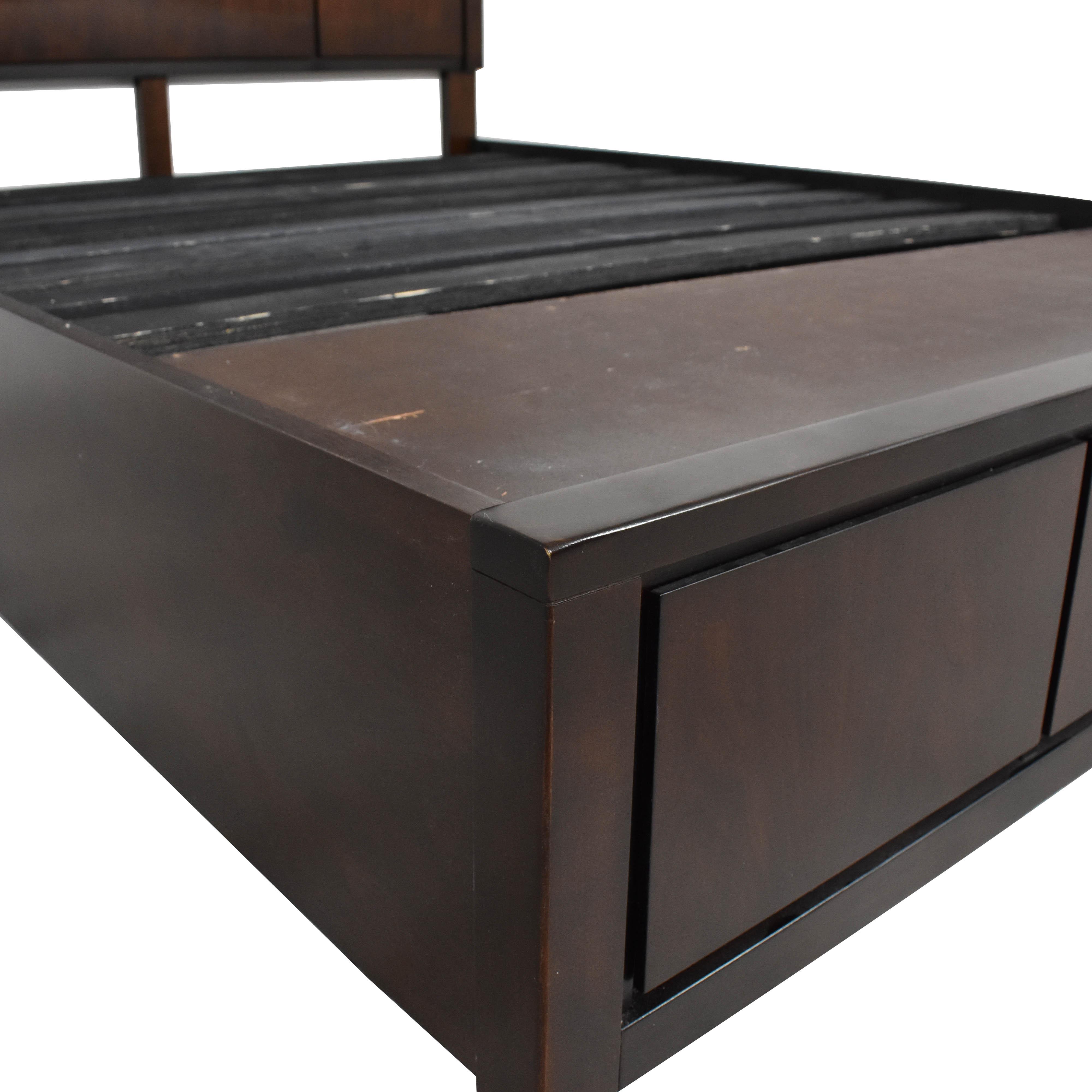 Queen Platform Storage Bed nyc