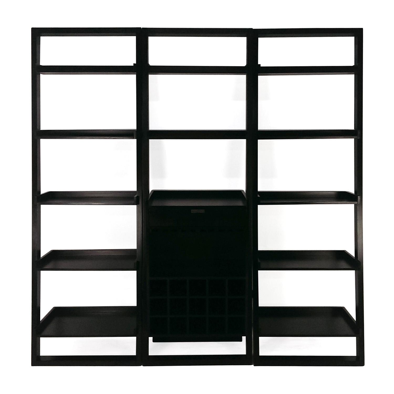 Crate and Barrel Crate and Barrel Modular Leaning Bookshelf discount