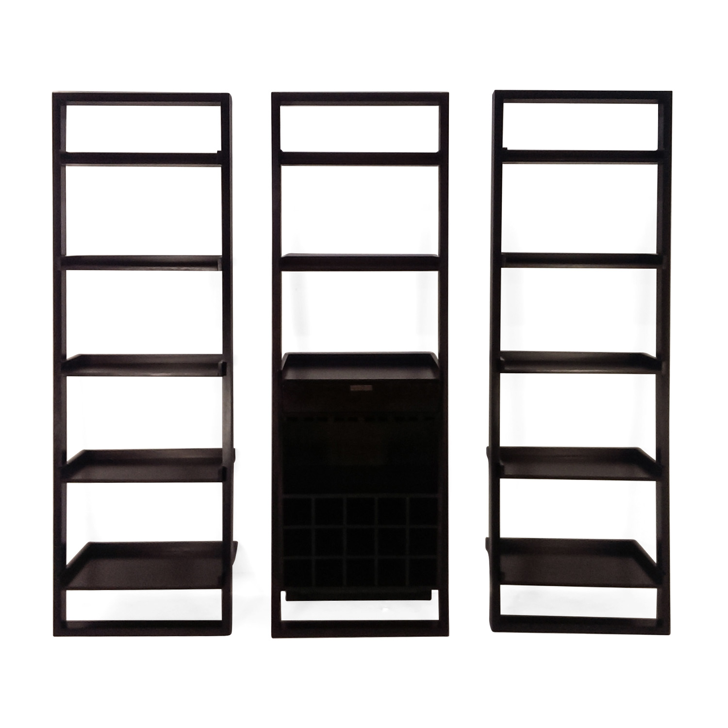 ... Crate and Barrel Crate and Barrel Modular Leaning Bookshelf discount ... - 81% OFF - Crate And Barrel Crate And Barrel Modular Leaning