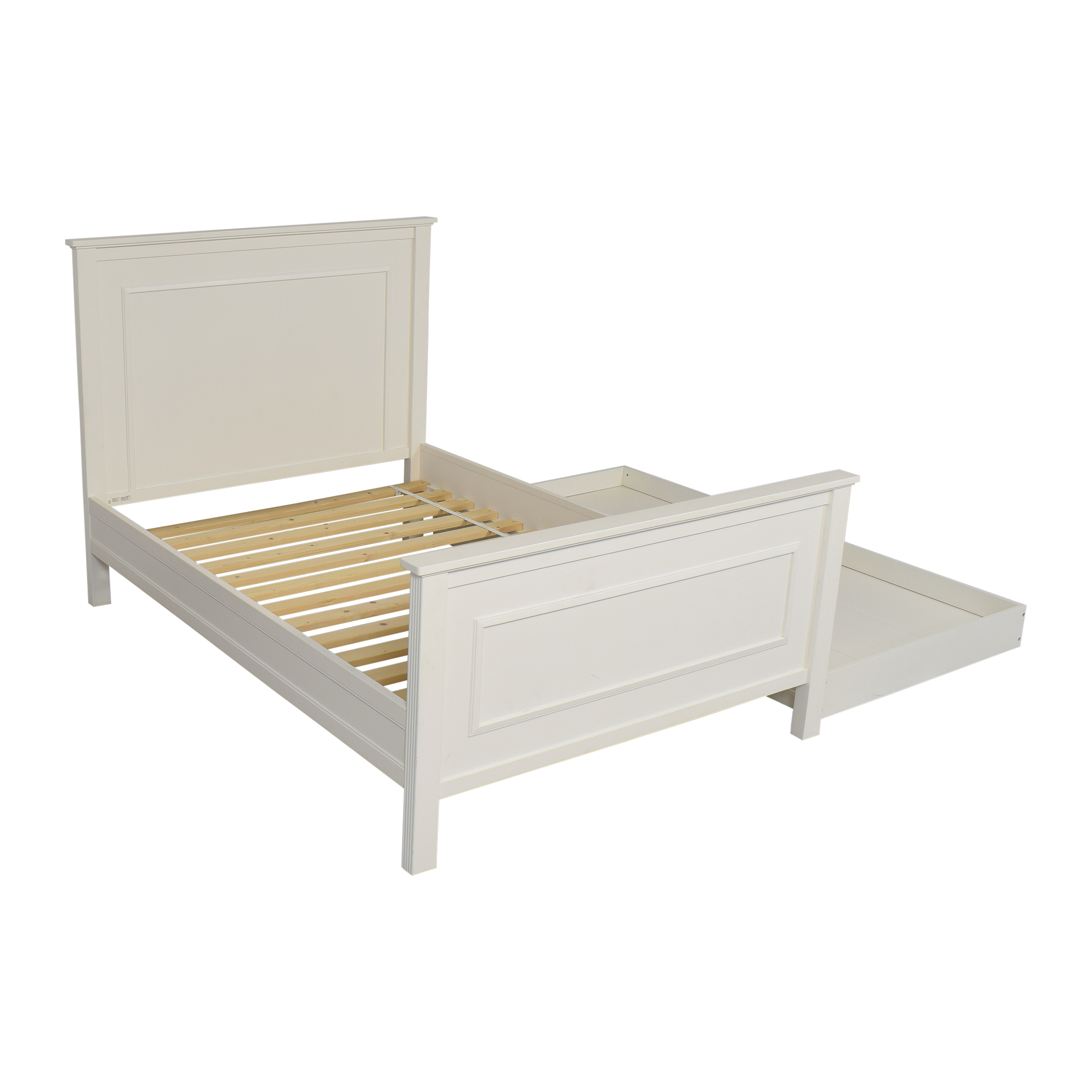 shop Pottery Barn Kids Fillmore Bed with Trundle Pottery Barn Kids Bed Frames