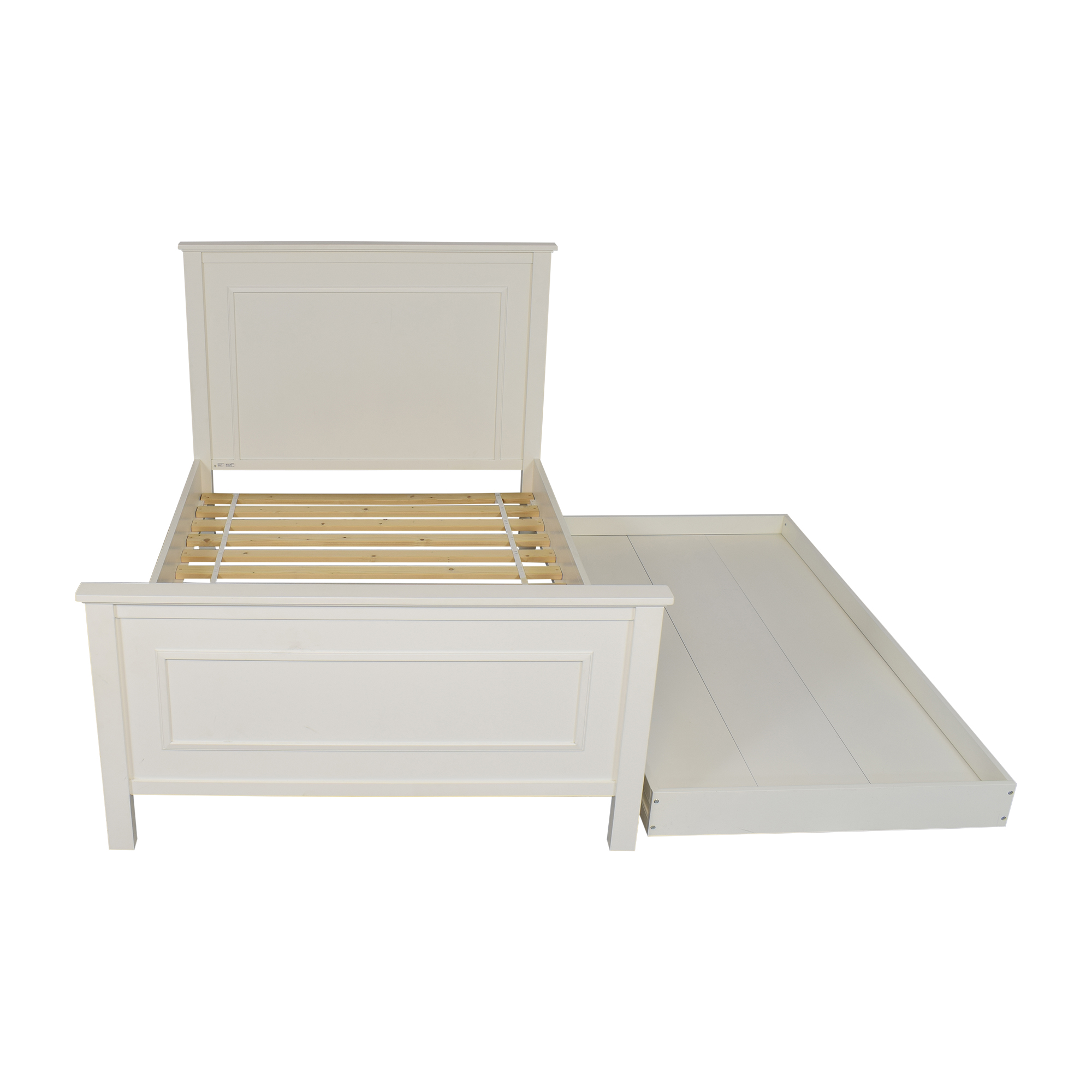 Pottery Barn Kids Fillmore Bed with Trundle / Bed Frames