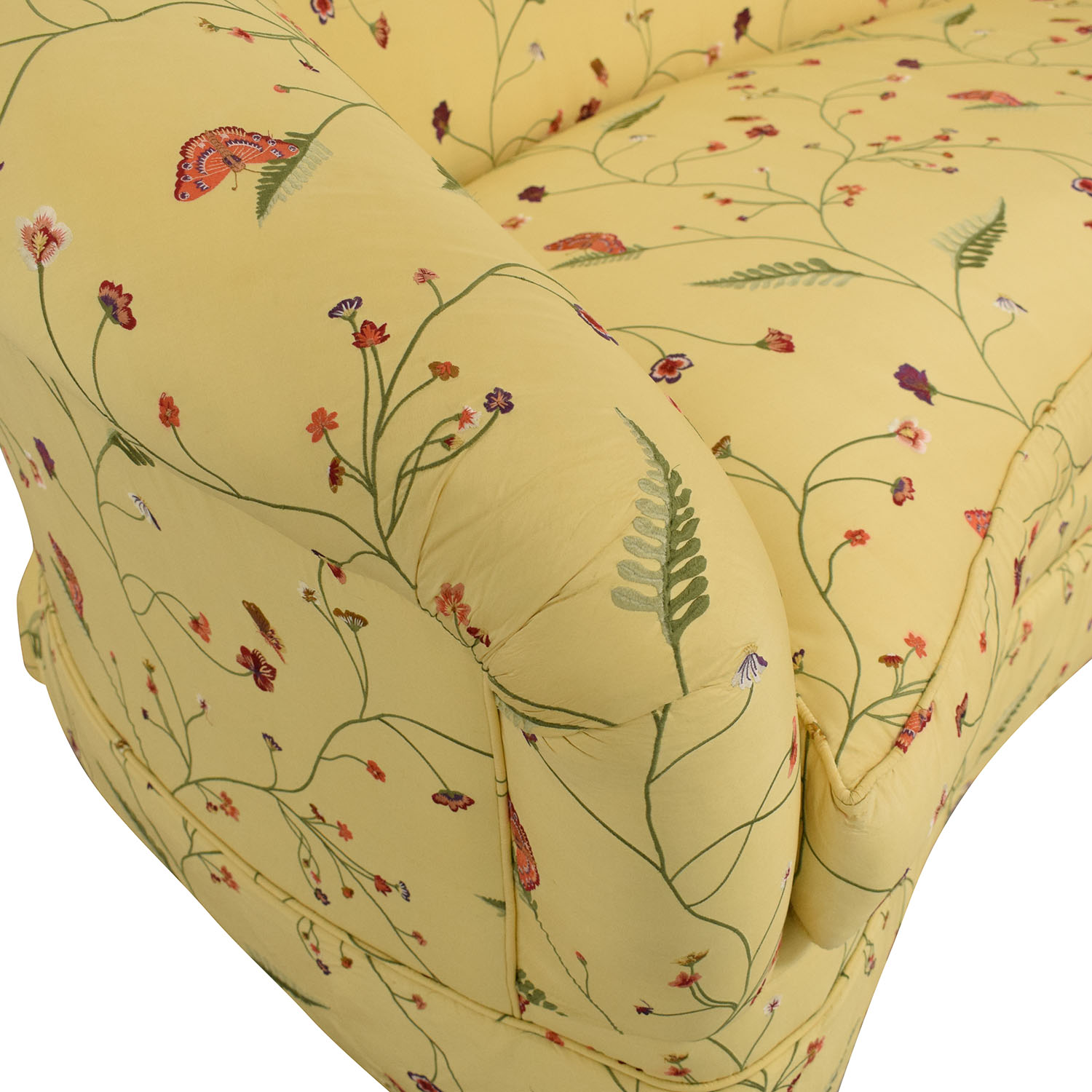 Drexel Heritage Drexel Heritage Chinoiserie Curved Sofa used