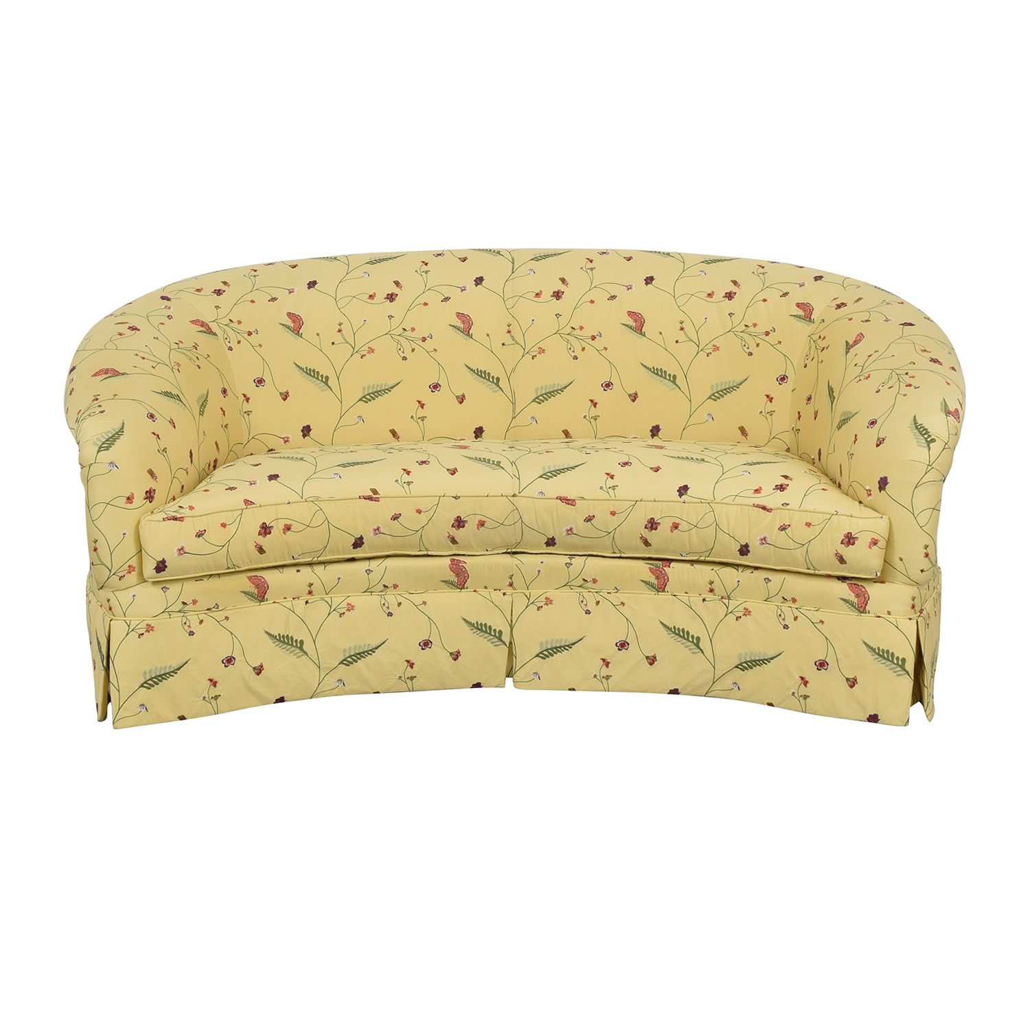 shop Drexel Heritage Chinoiserie Curved Sofa Drexel Heritage Sofas