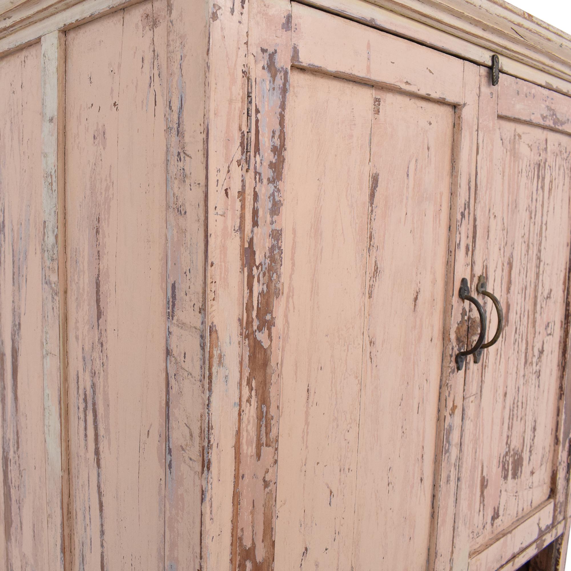 ABC Carpet & Home ABC Carpet & Home Storage Cabinet light pink