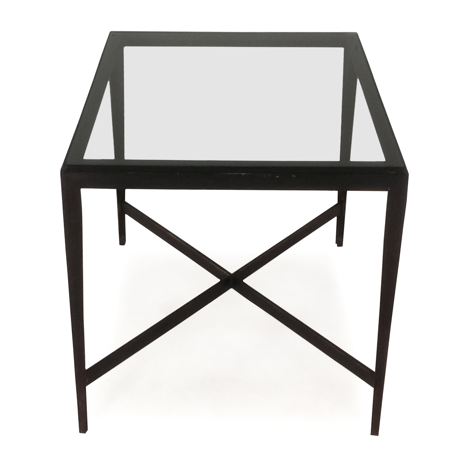 shop Glass end table