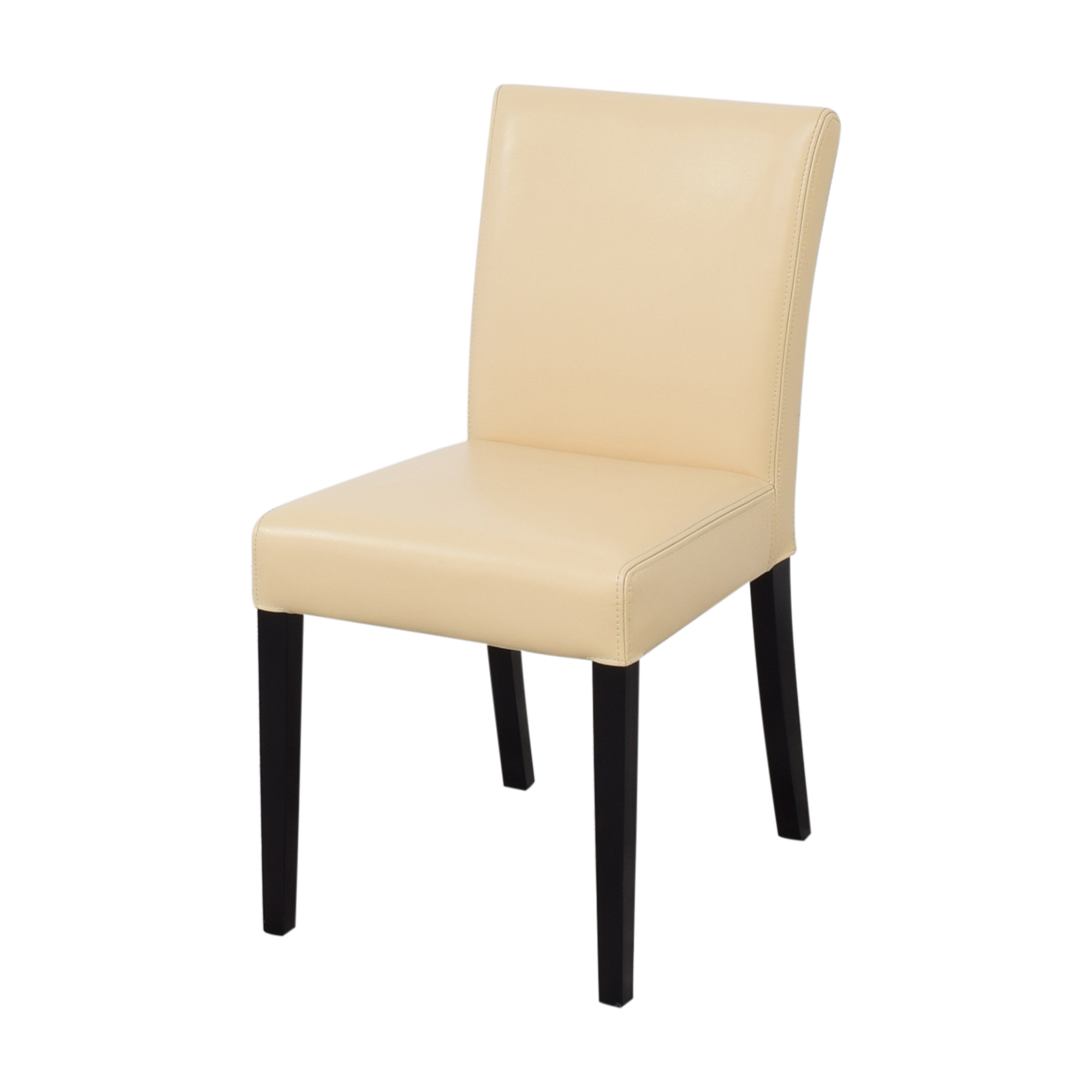buy Crate & Barrel Lowe Ivory Dining Chairs Crate & Barrel Chairs