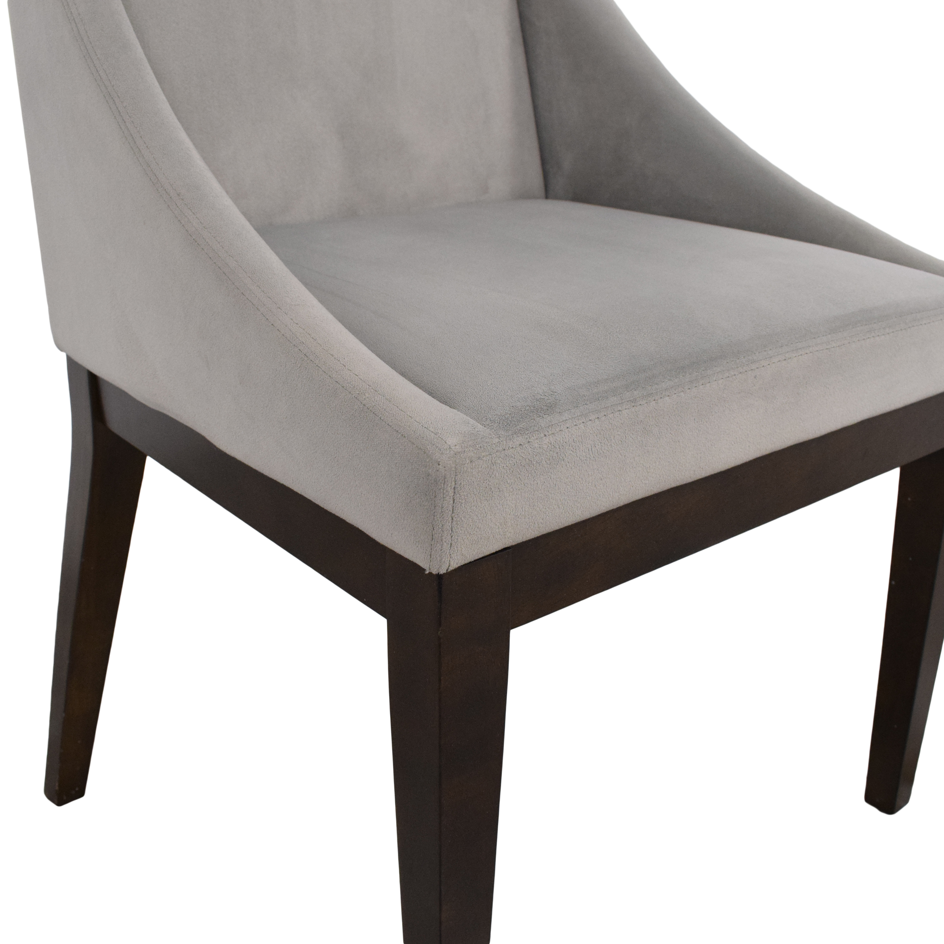West Elm West Elm Curved Upholstered Dining Chair ma