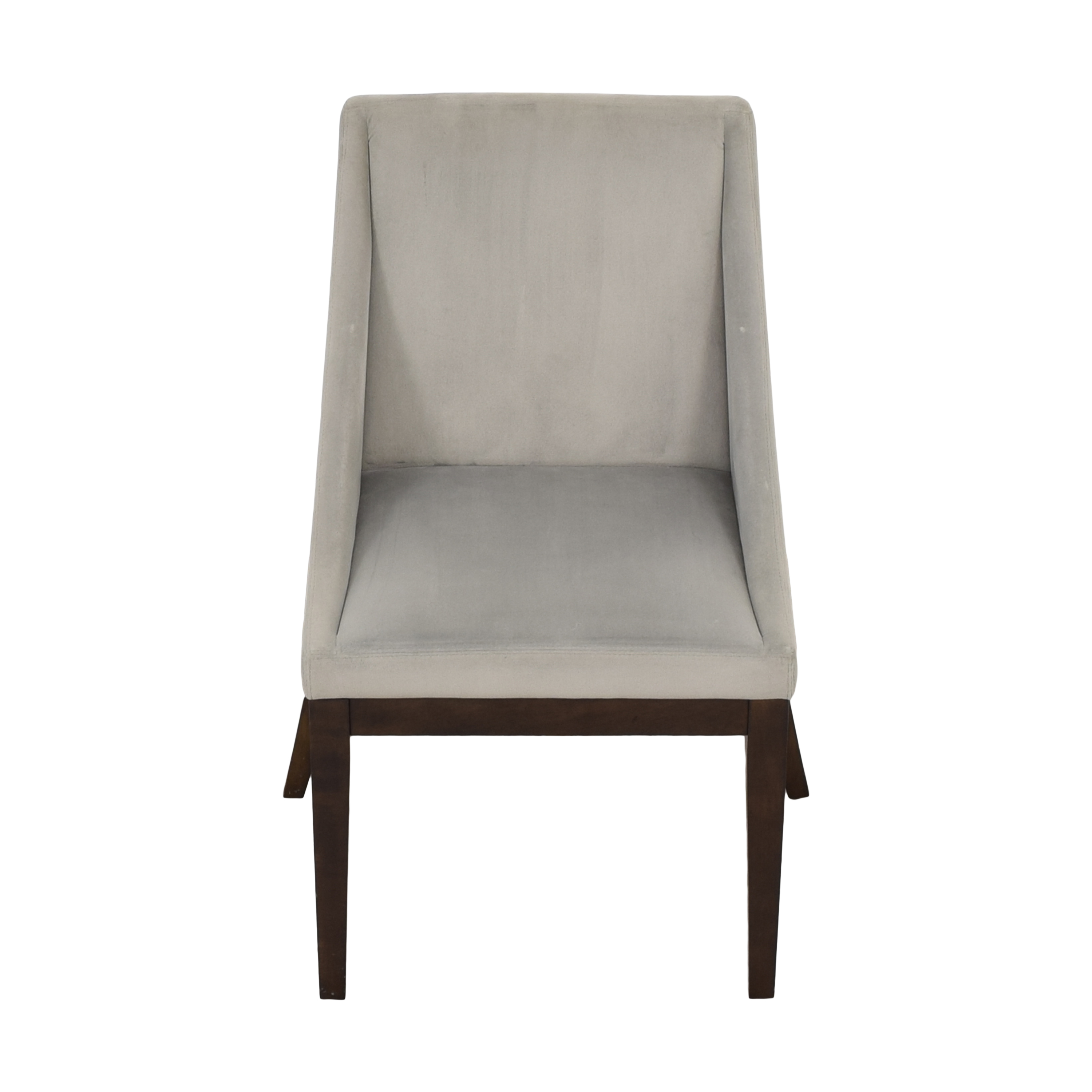 West Elm West Elm Curved Upholstered Dining Chair discount