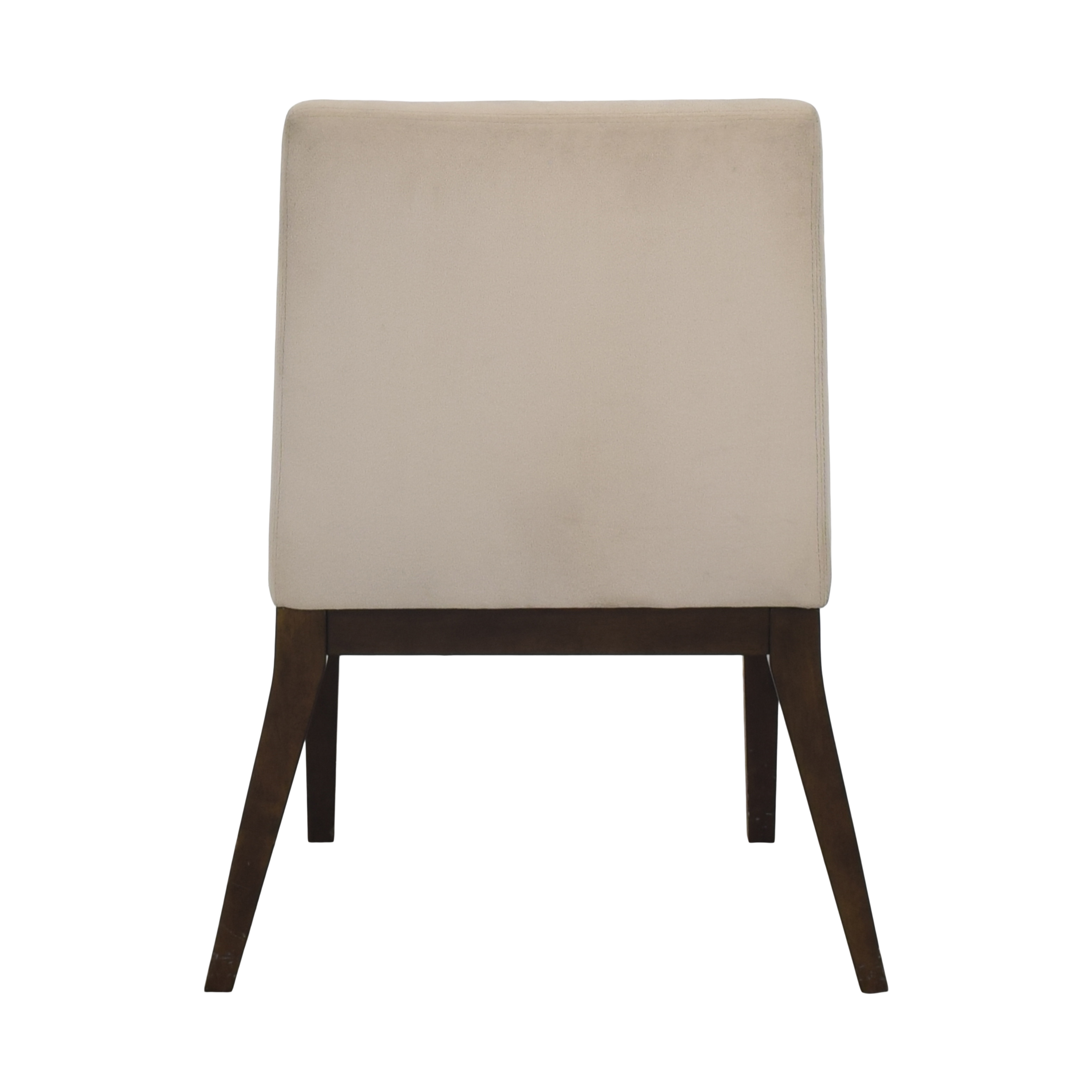 West Elm West Elm Curved Upholstered Dining Chair