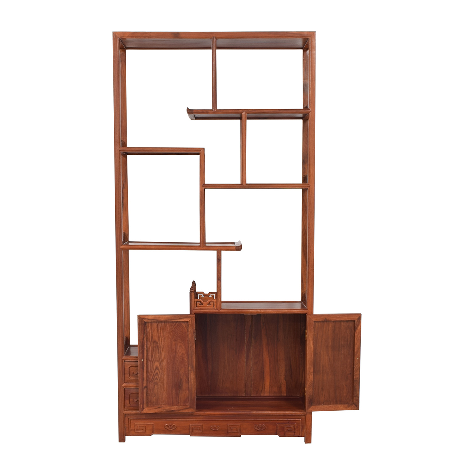 buy Carved Modular Bookcase