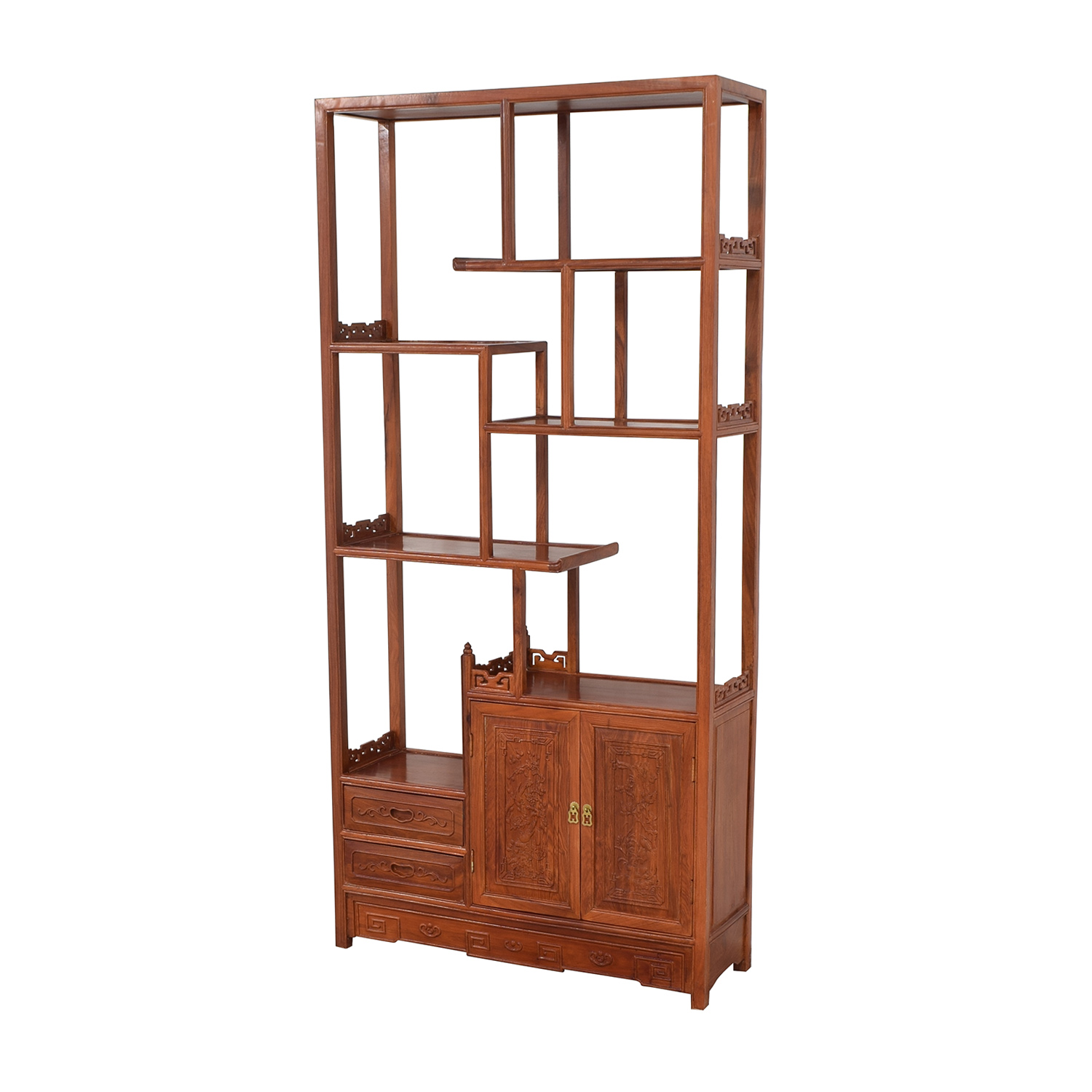 Carved Modular Bookcase discount