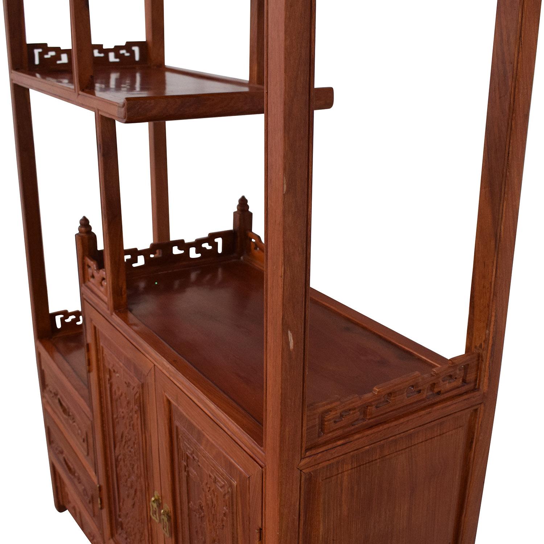 buy  Carved Modular Bookcase online