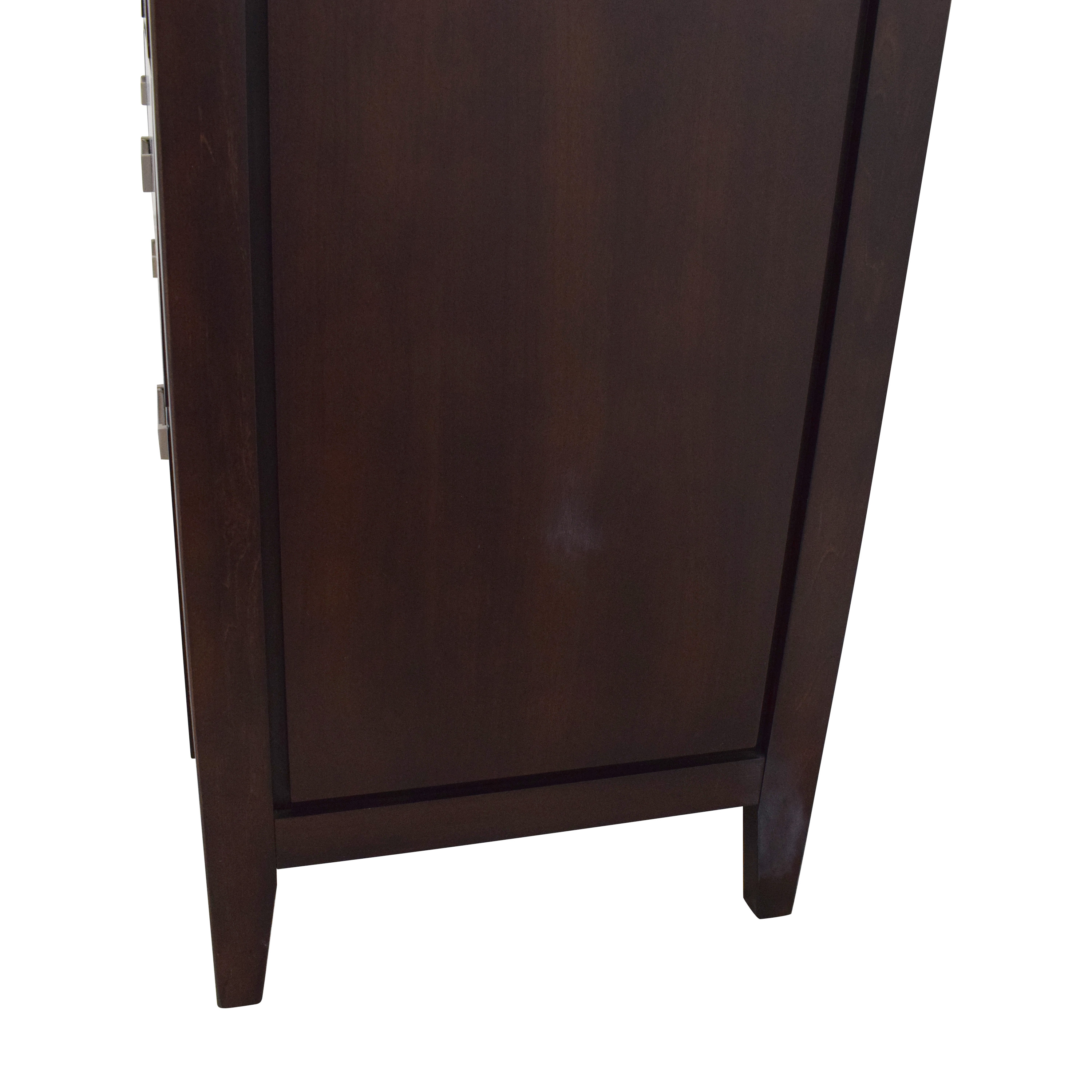 shop Raymour & Flanigan Kian Dresser with Mirror Raymour & Flanigan