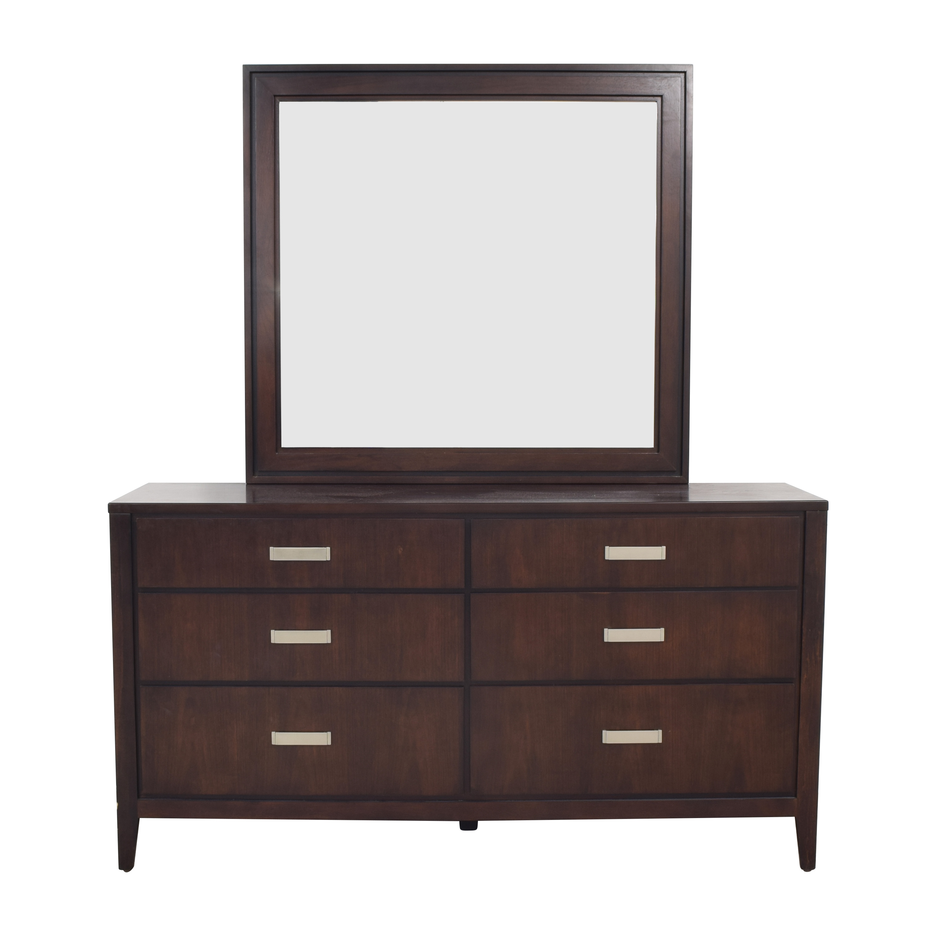 Raymour & Flanigan Raymour & Flanigan Kian Dresser with Mirror ma