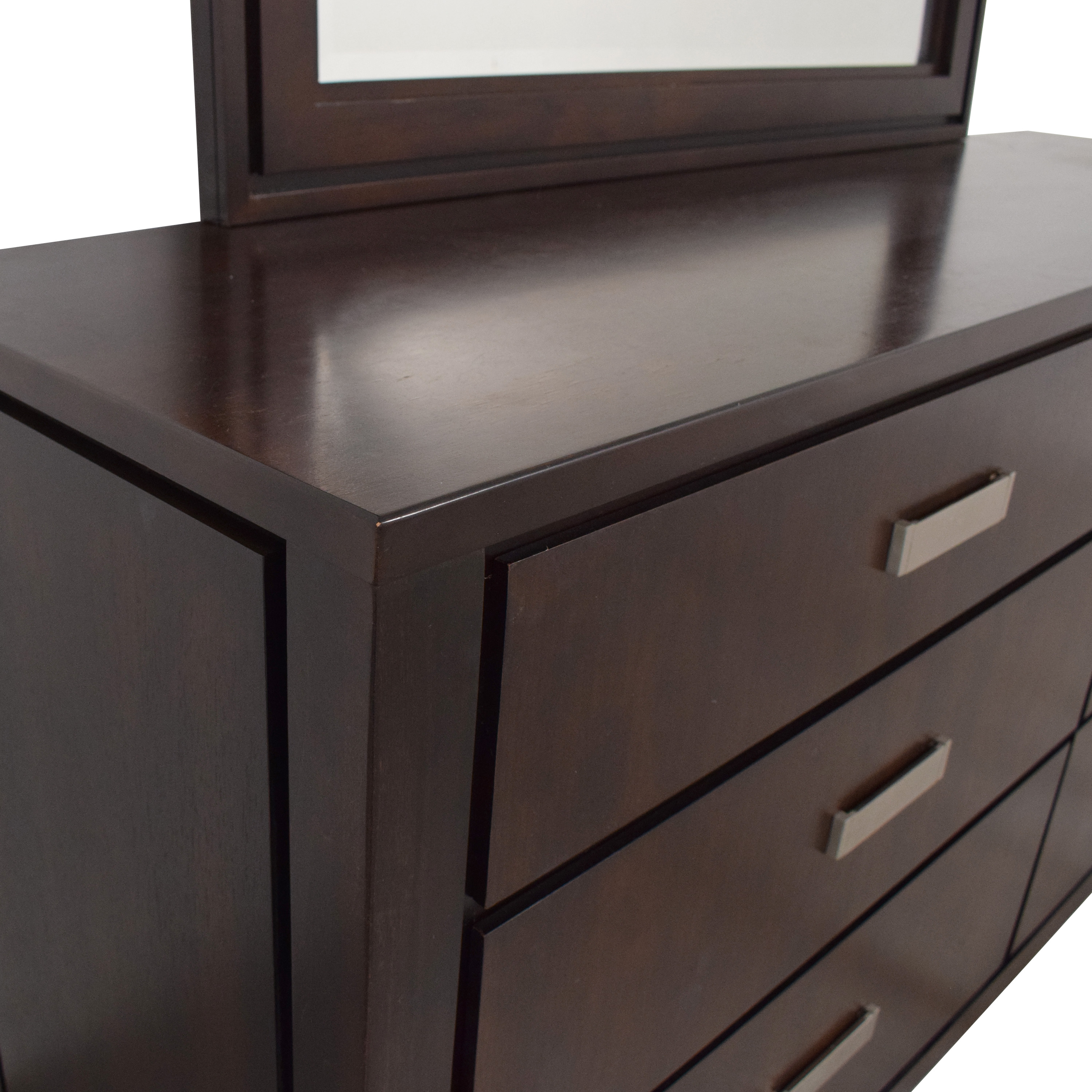 Raymour & Flanigan Raymour & Flanigan Kian Dresser with Mirror discount