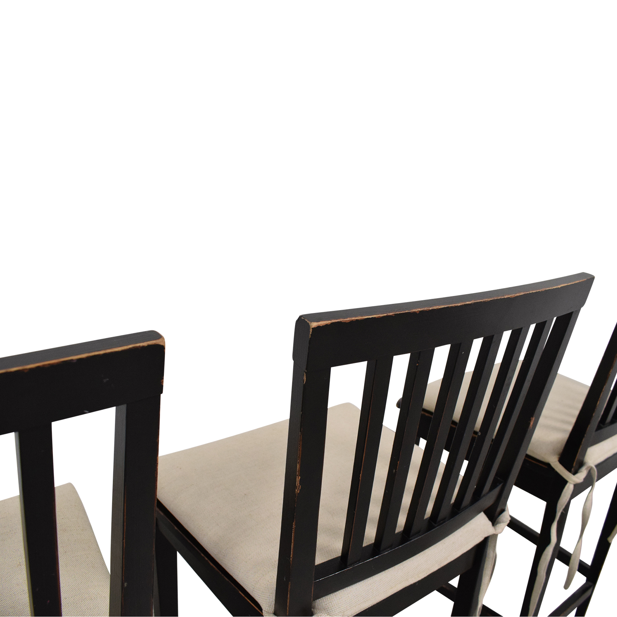 Crate & Barrel Crate & Barrel Buying & Design Counter Height Chairs second hand