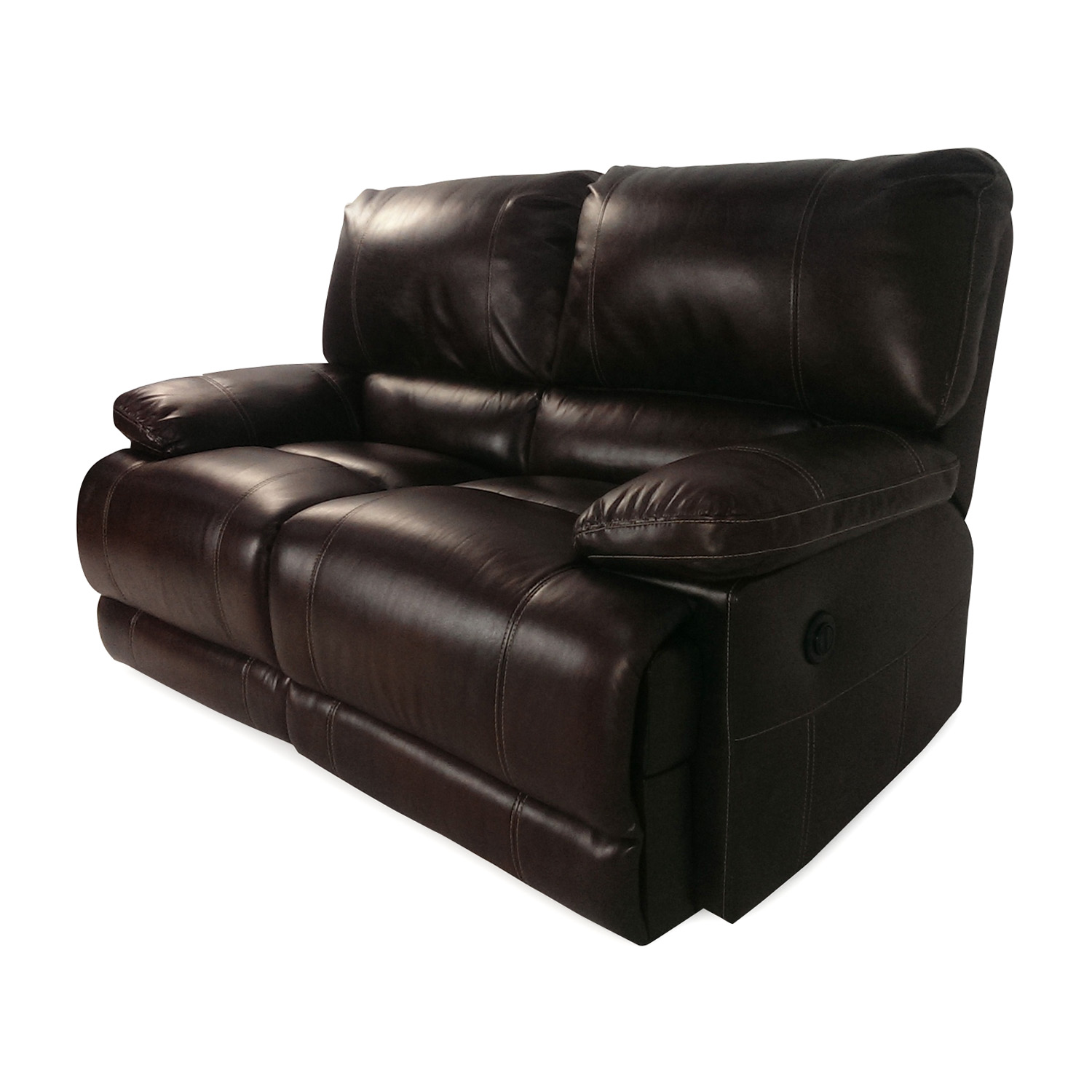 50 off bobs furniture bobs furniture reclining loveseat for Bobs used furniture