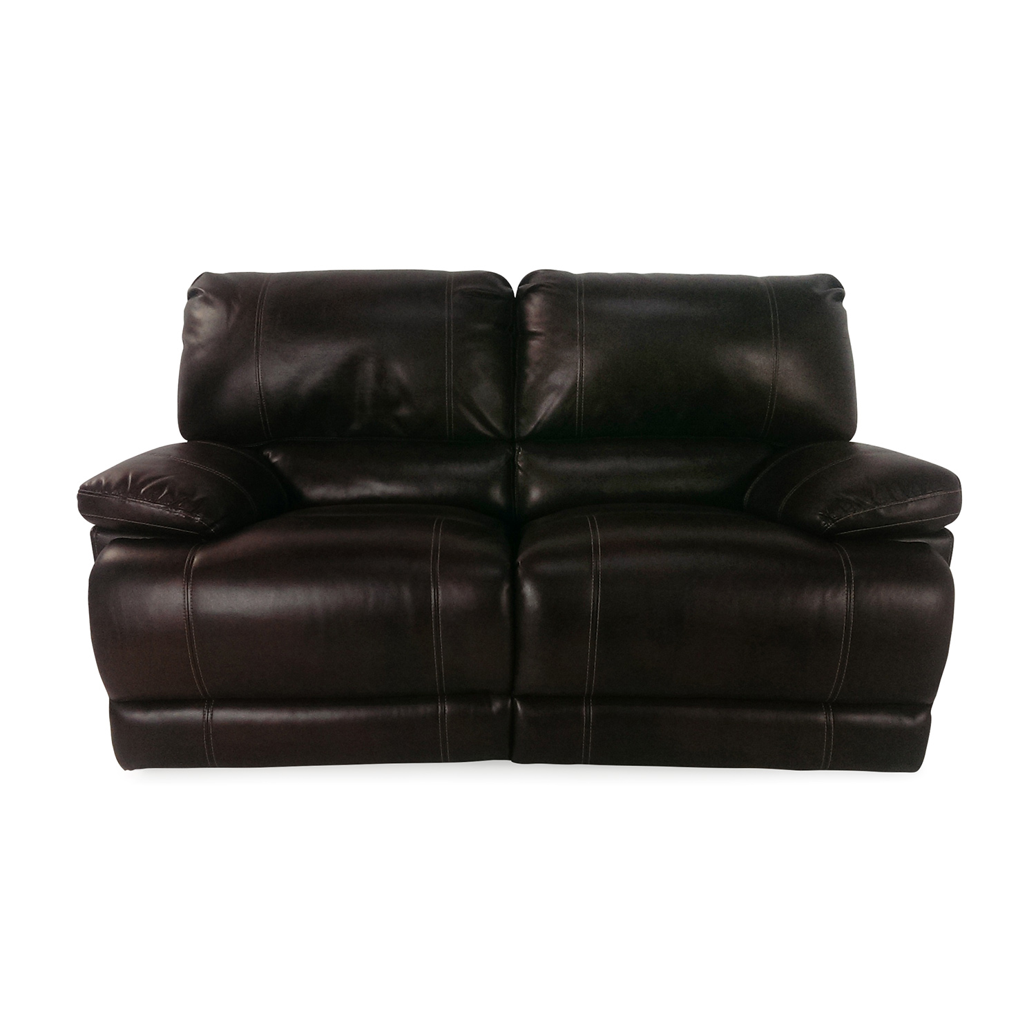Bobs Furniture Bobs Furniture Reclining Loveseat dimensions