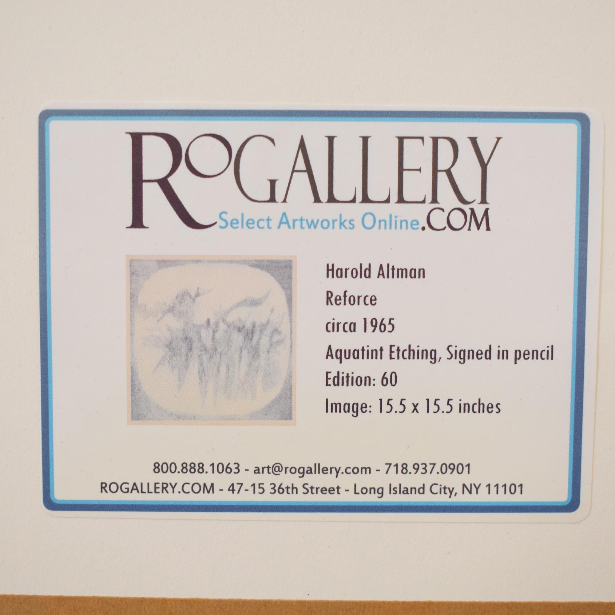 Framed Harold Altman Wall Art / Wall Art