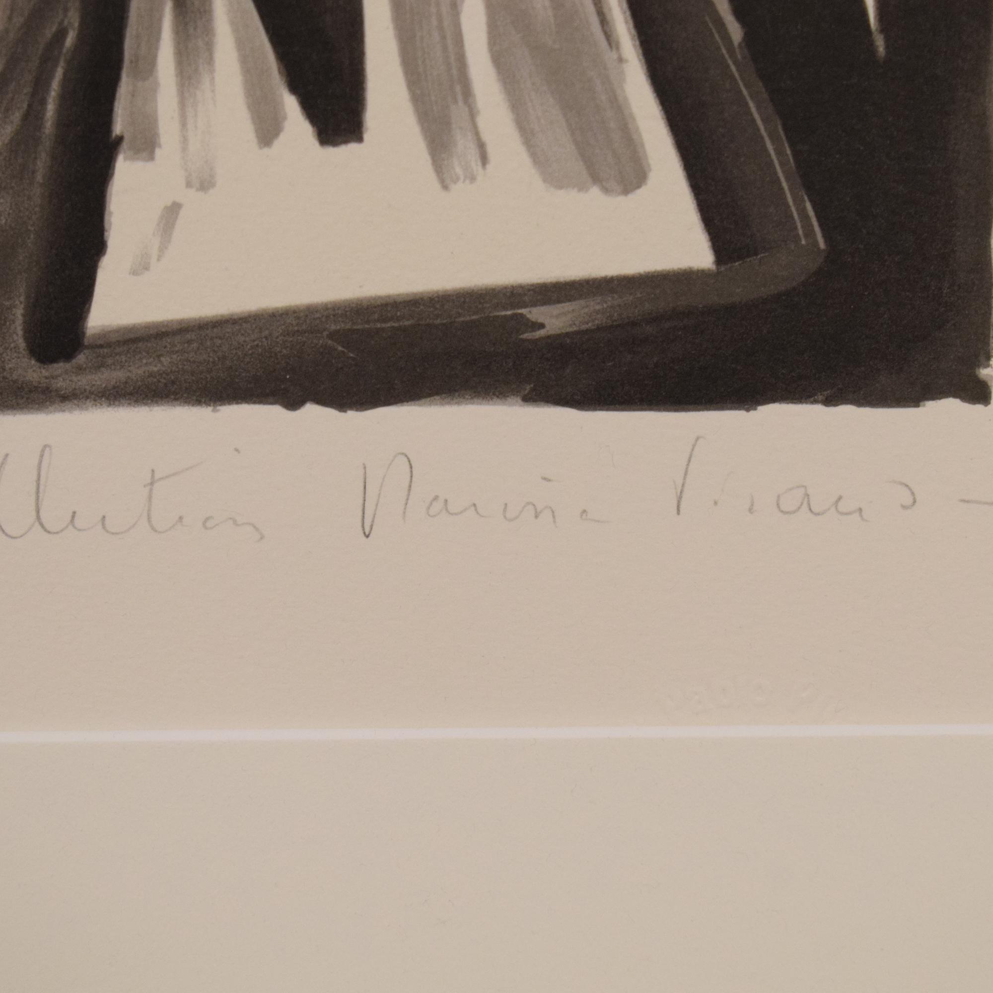 Pablo Picasso Deux Pigeons Framed Lithograph sale