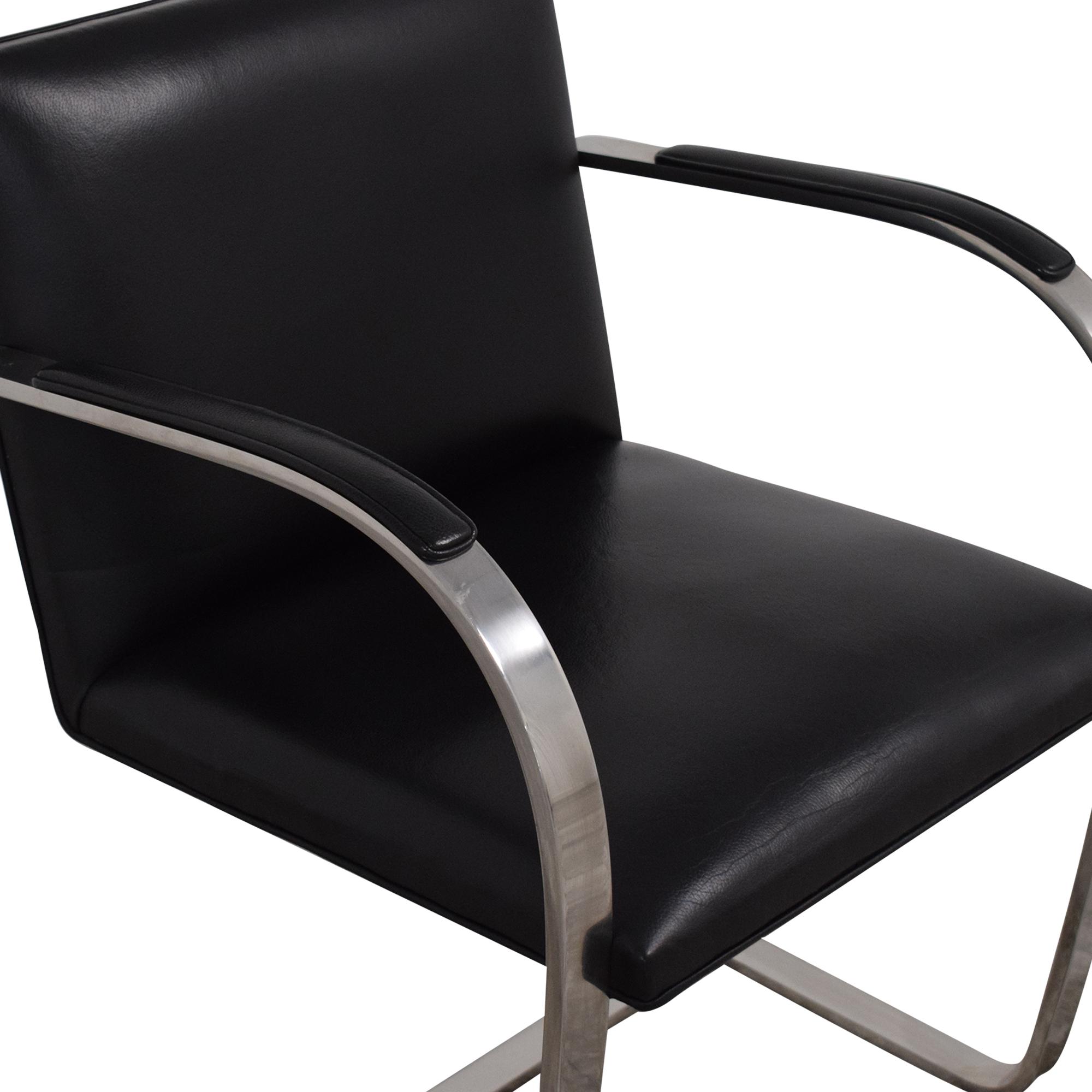 Mies Van Der Rohe for Knoll Brno Flat Bar Chair sale
