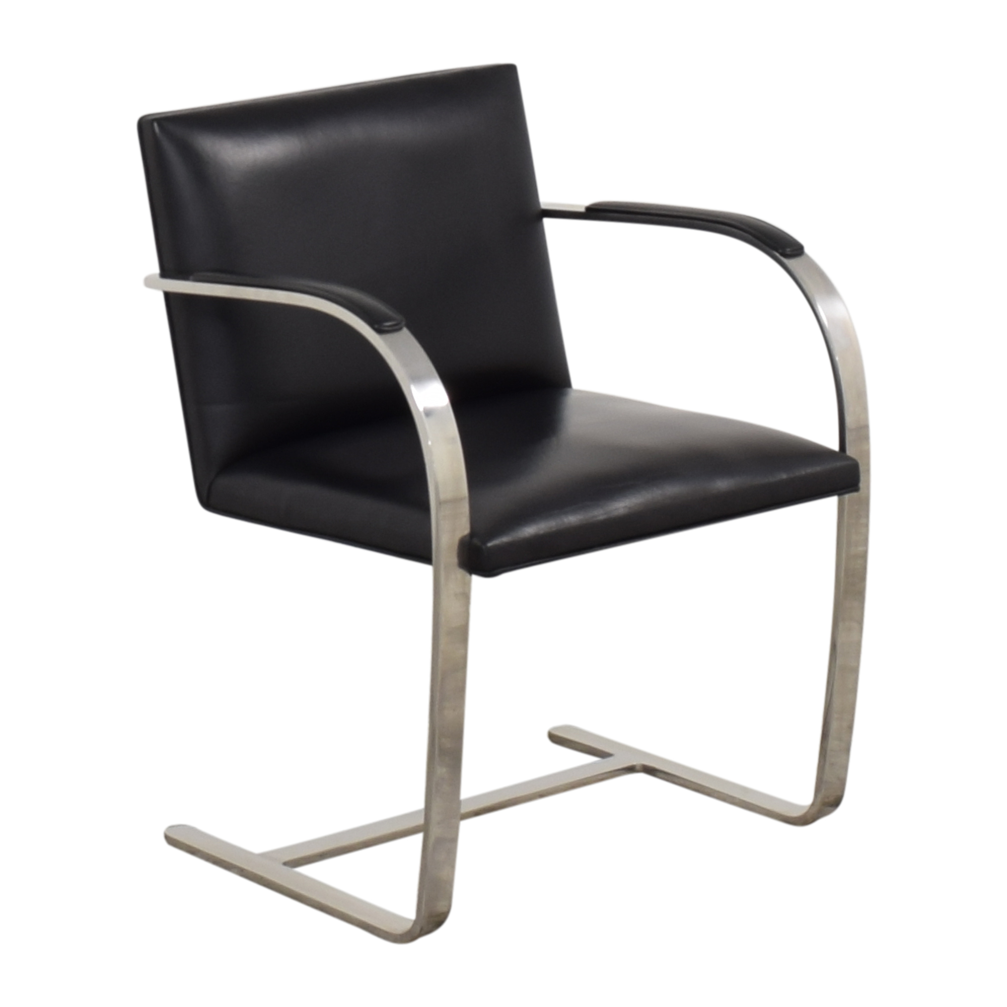 Knoll Mies Van Der Rohe for Knoll Brno Flat Bar Chair Chairs