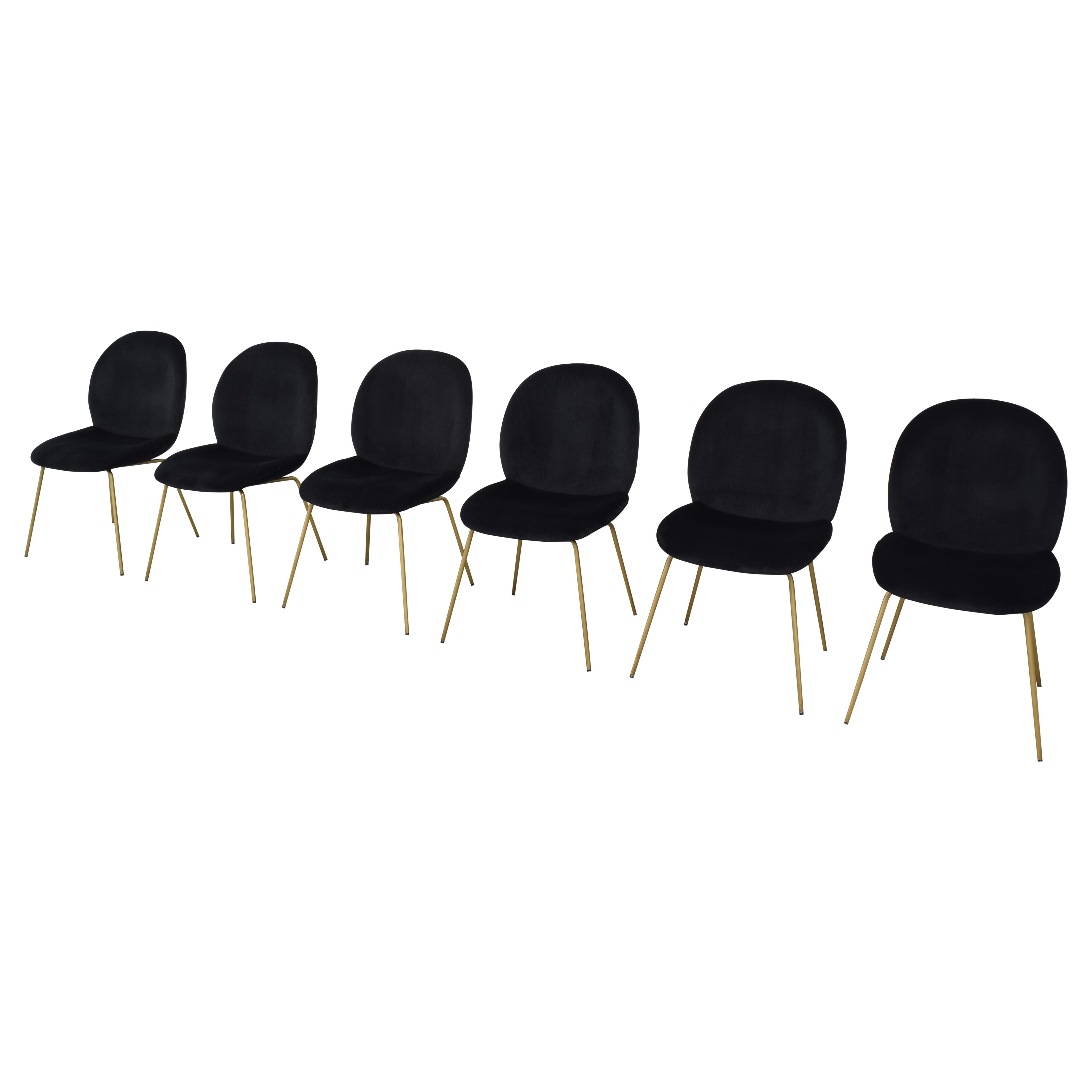 World Market World Market Vivian Velvet Dining Chairs on sale