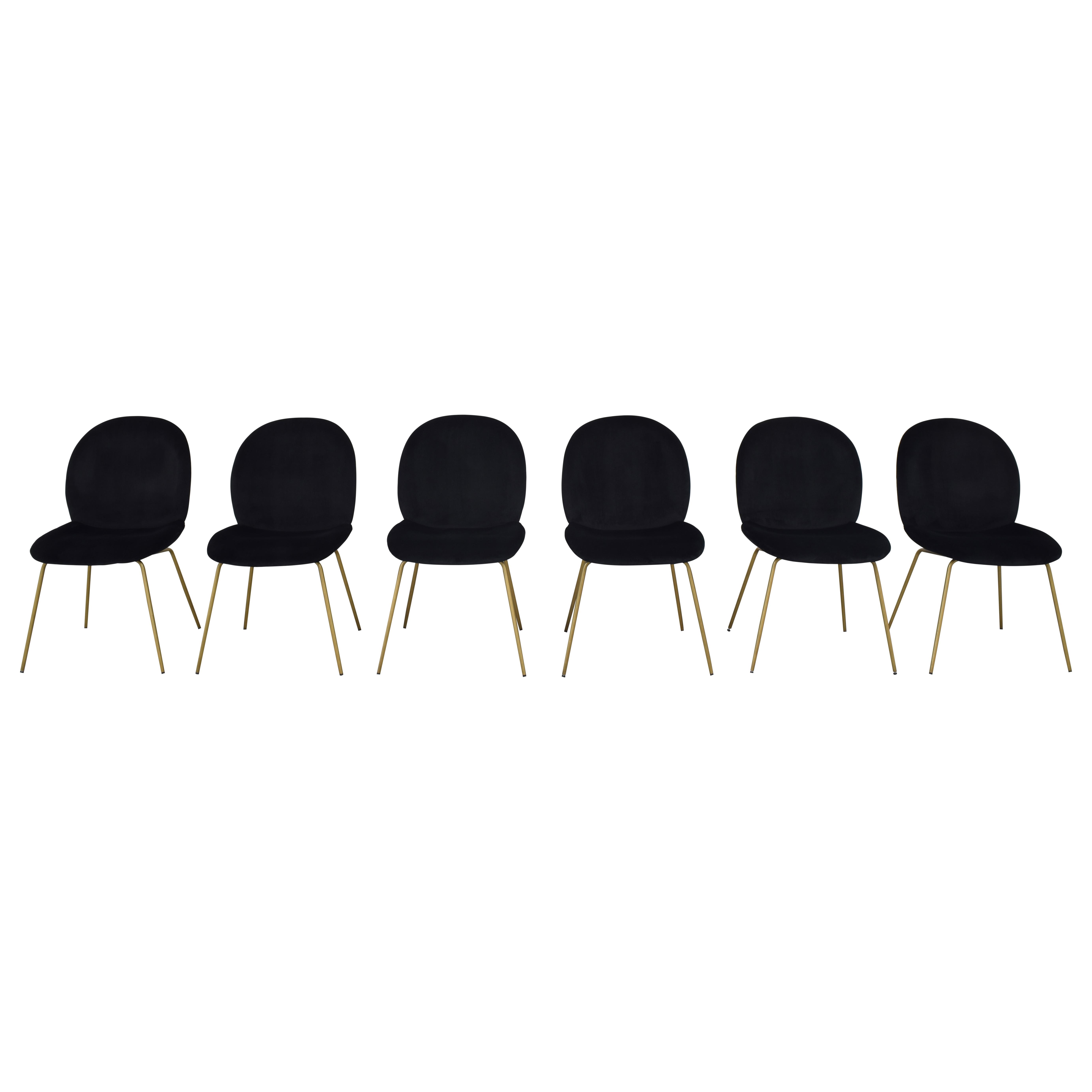 World Market World Market Vivian Velvet Dining Chairs nj