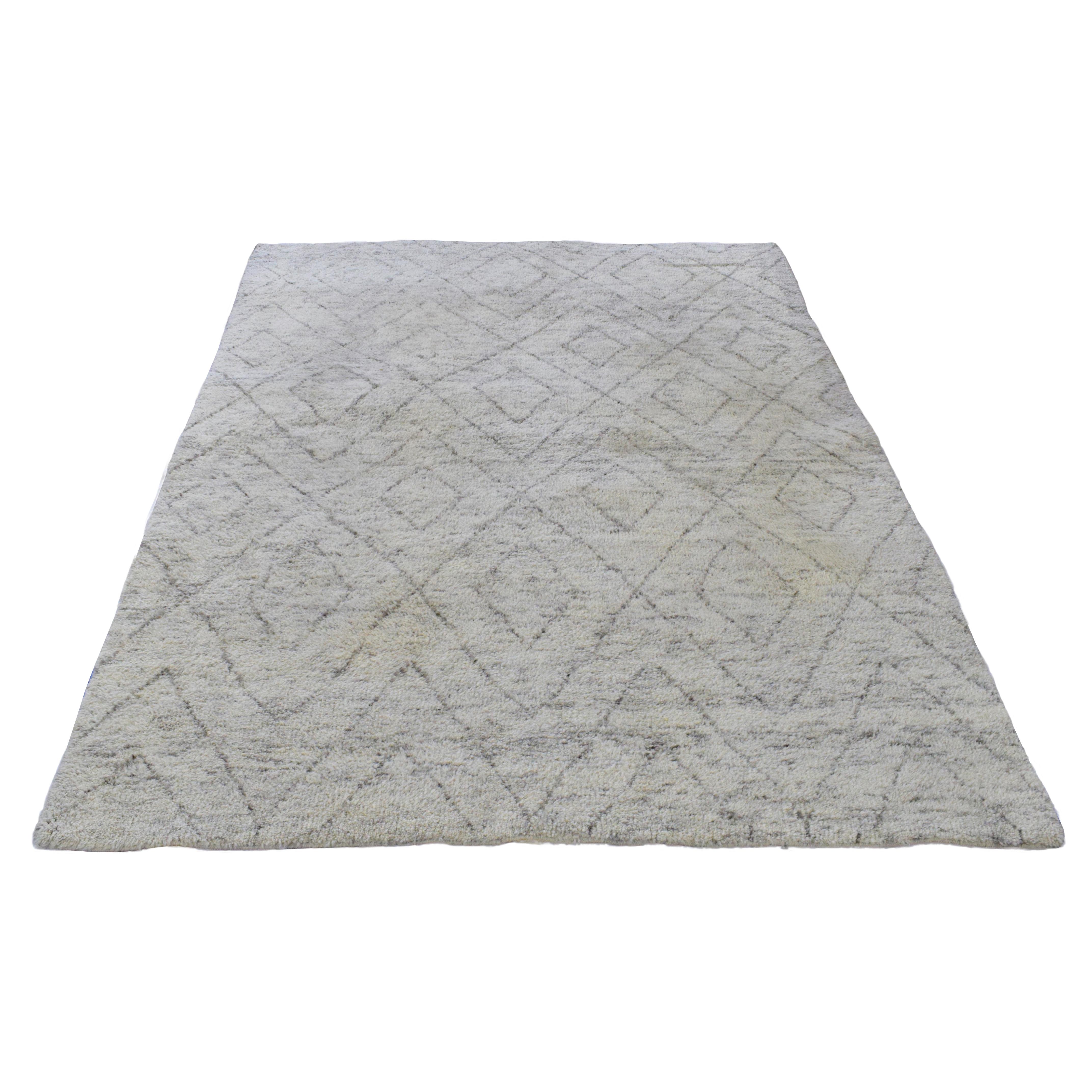 Restoration Hardware Restoration Hardware Ben Soleimani Double Diamond Moroccan Wool Rug nj