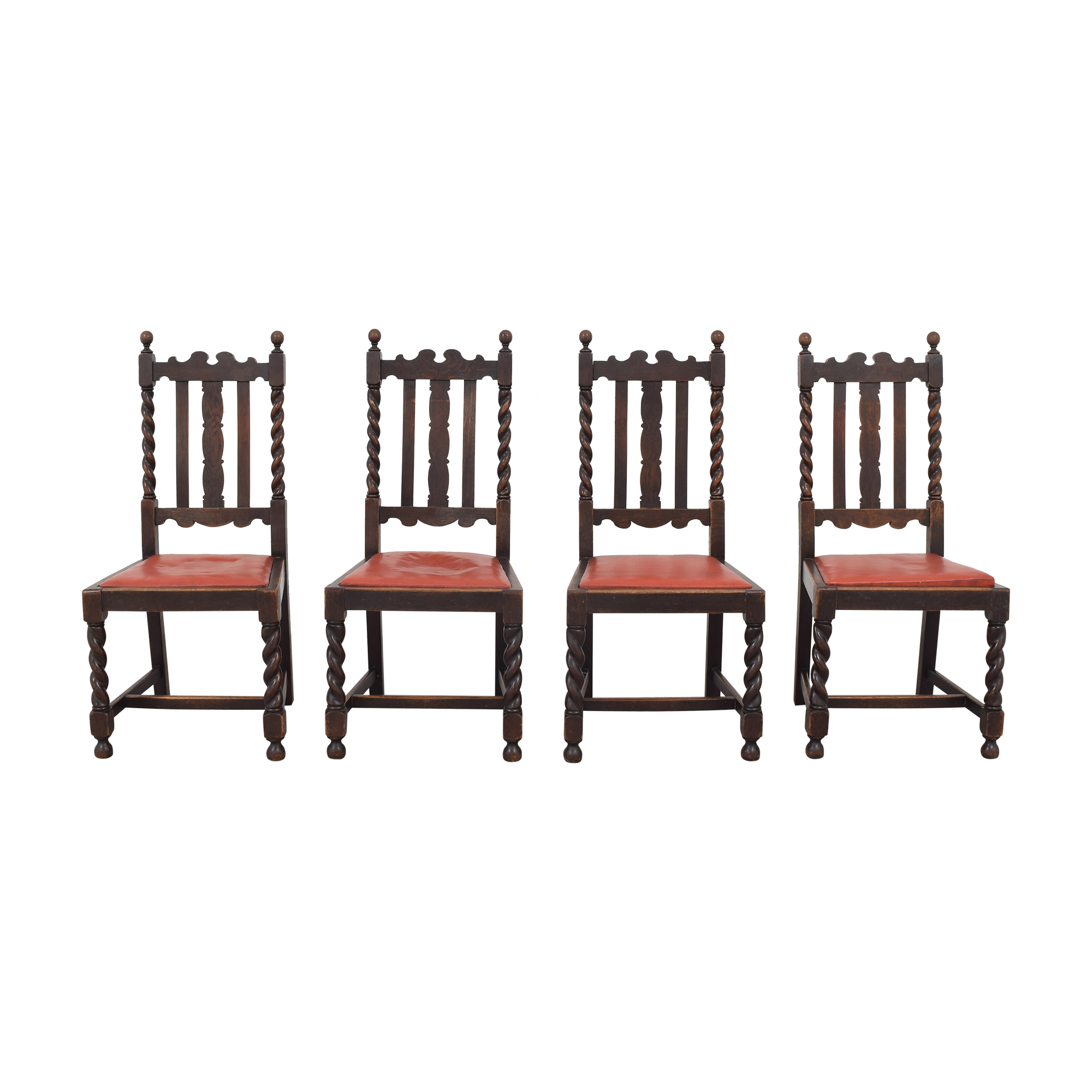 Vintage Dining Chairs pa