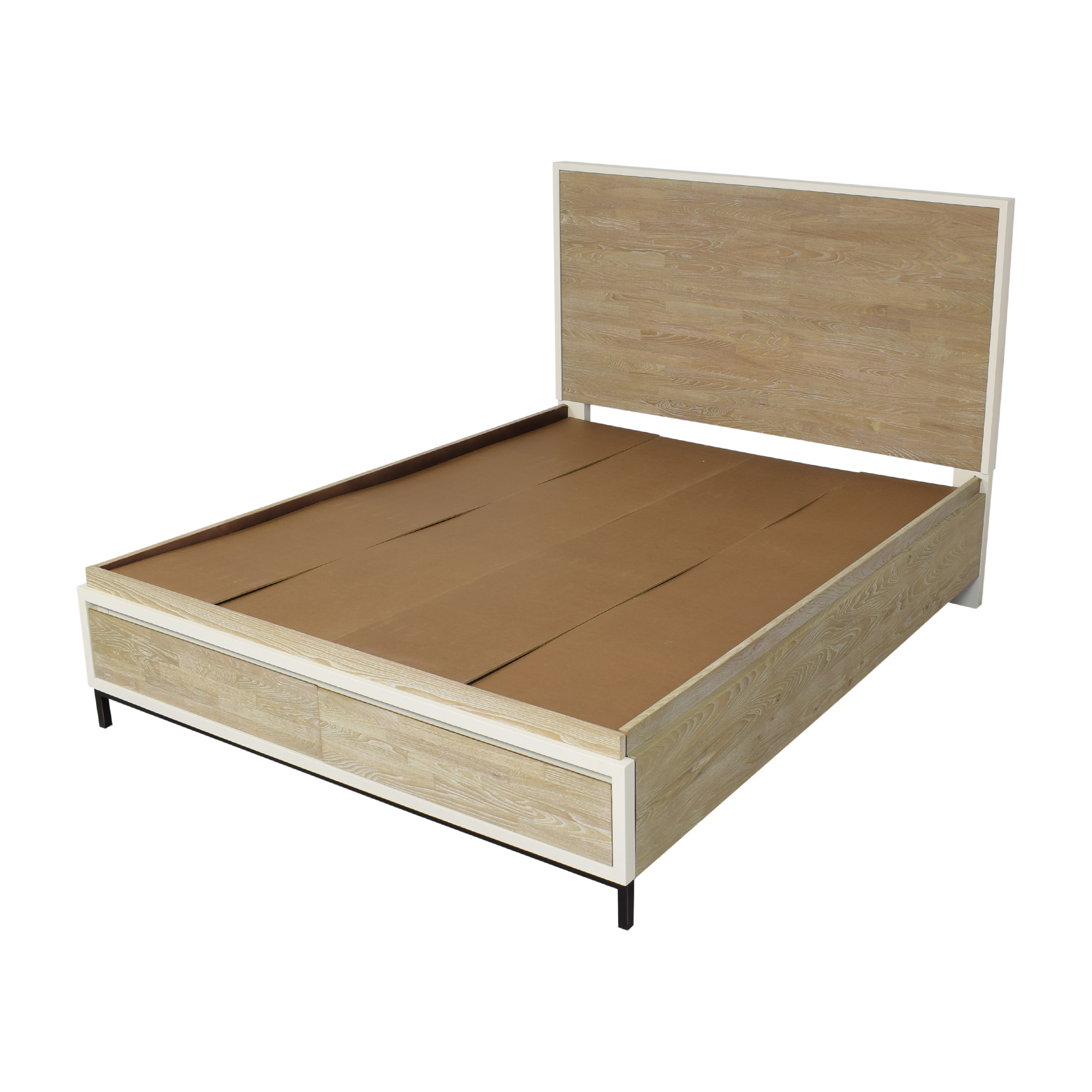 Universal Furniture Macy's Avery Storage Queen Bed used