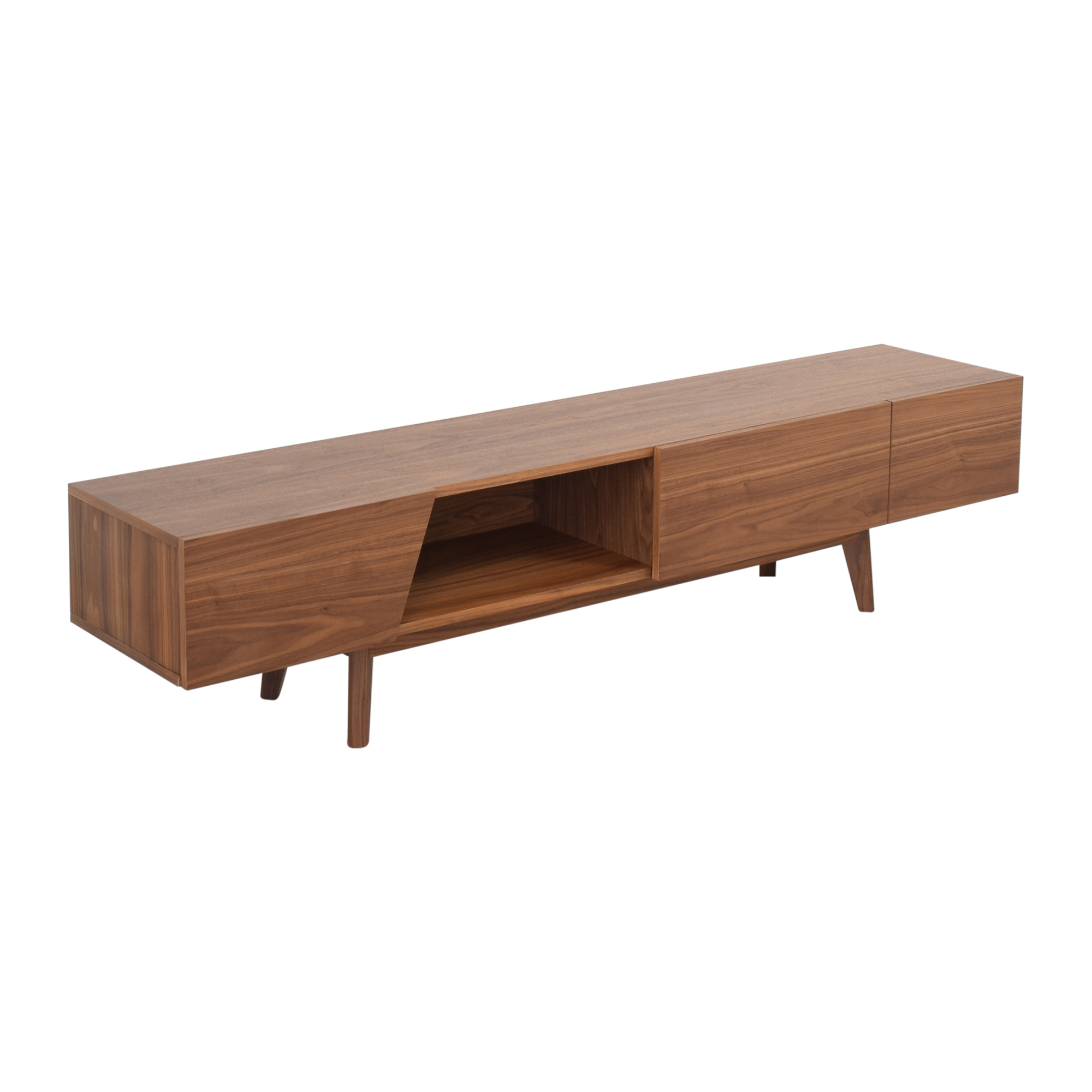 Modani Modani Cama TV Stand Walnut Media Units
