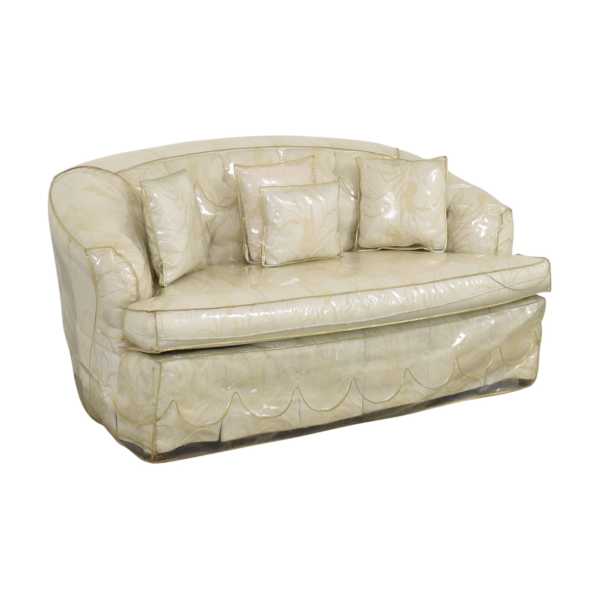 shop Key City Furniture Key City Furniture Tufted Loveseat online