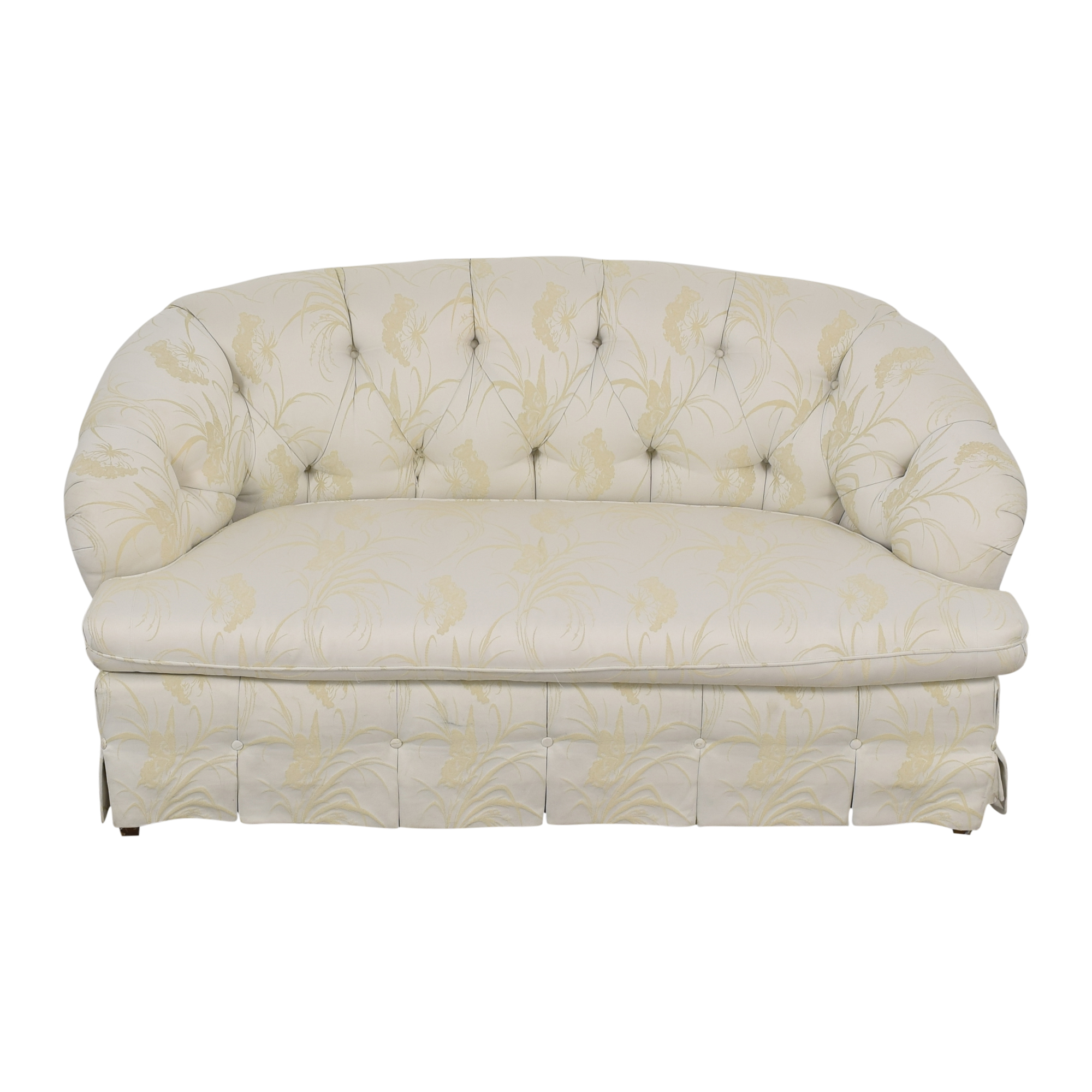 Key City Furniture Key City Furniture Tufted Loveseat ma