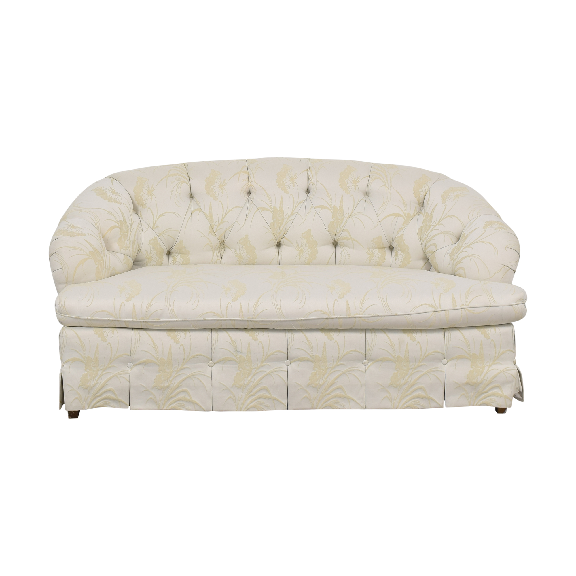 Key City Furniture Tufted Loveseat / Sofas