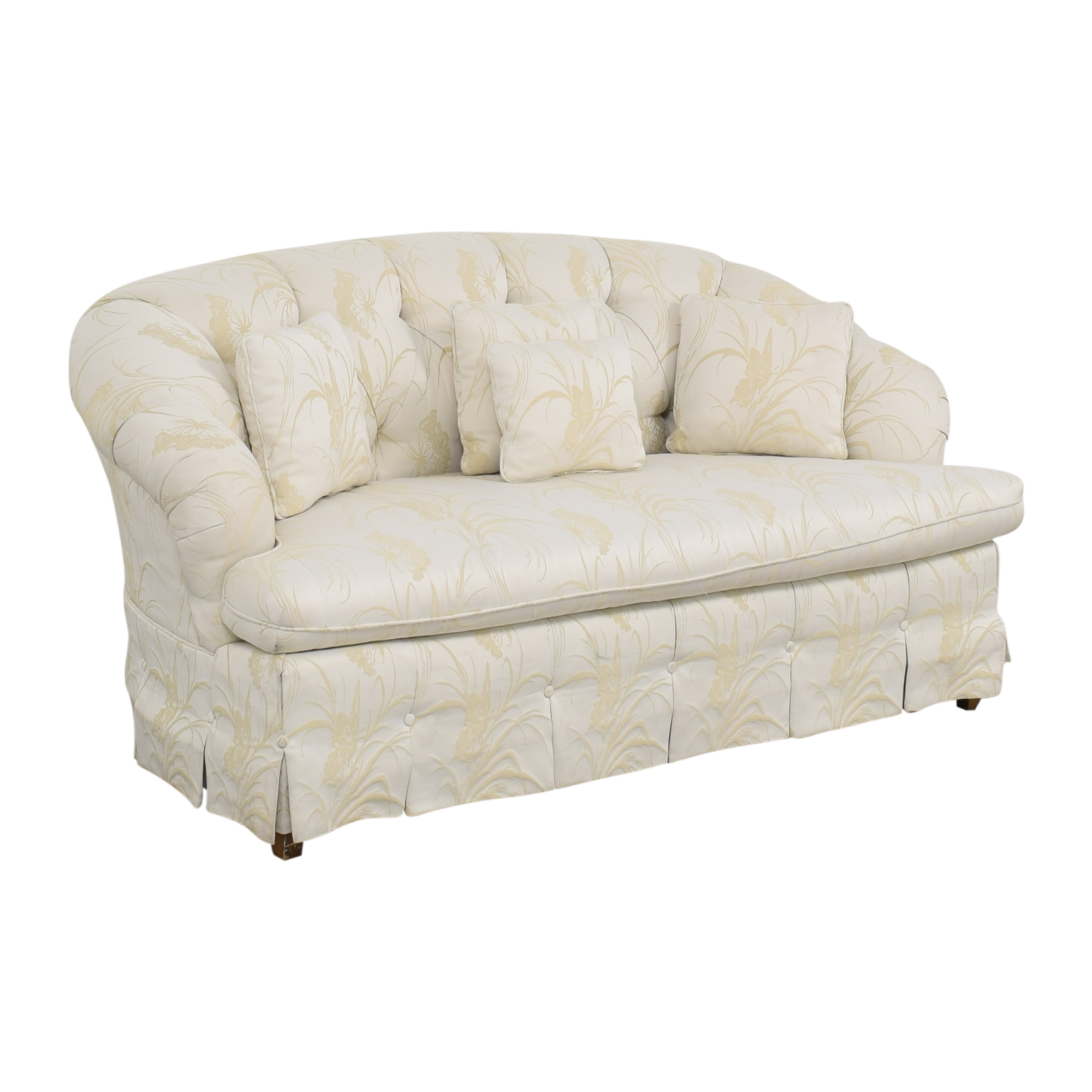 Key City Furniture Key City Furniture Tufted Loveseat nyc