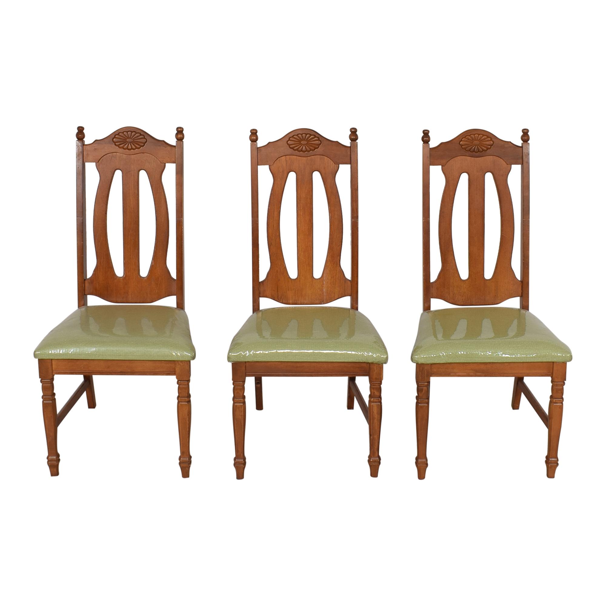 Bassett Furniture Bassett Furniture Vintage Dining Chairs pa