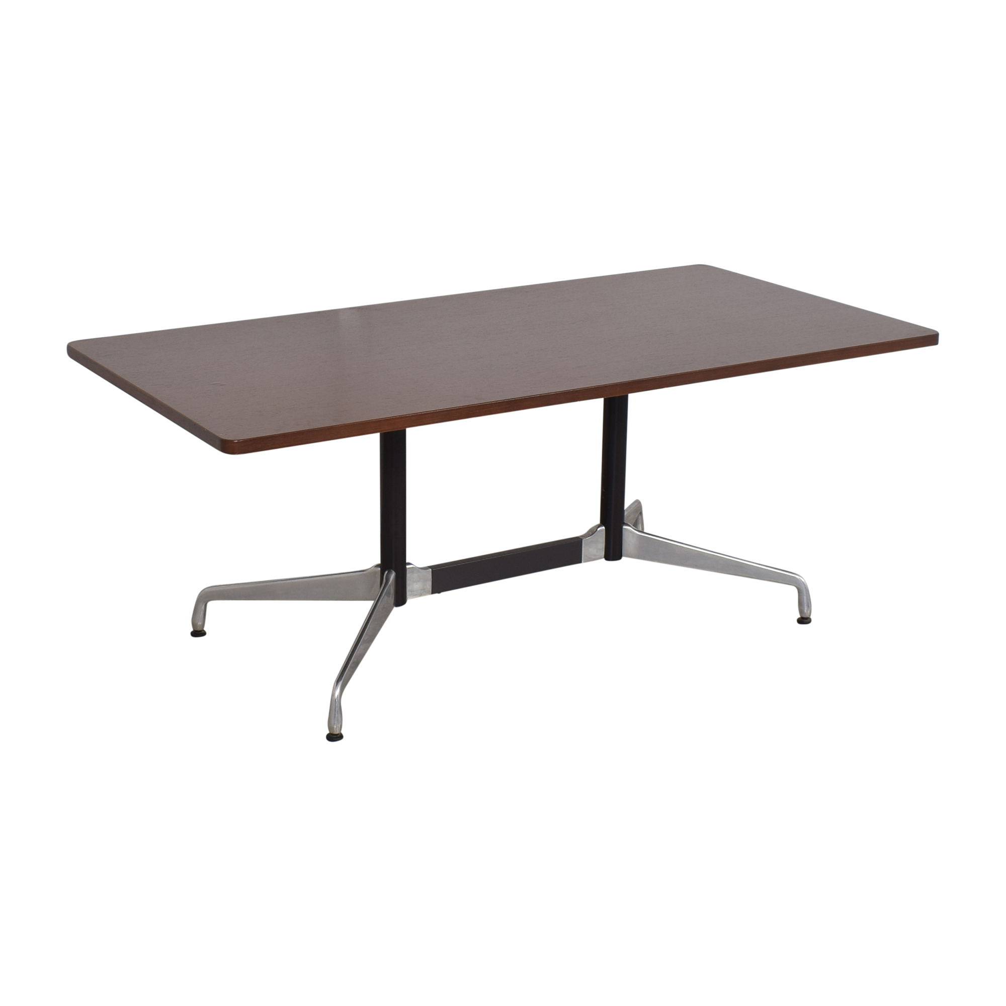 Herman Miller Herman Millier Eames Table with Rectangular Top and Segmented Base second hand