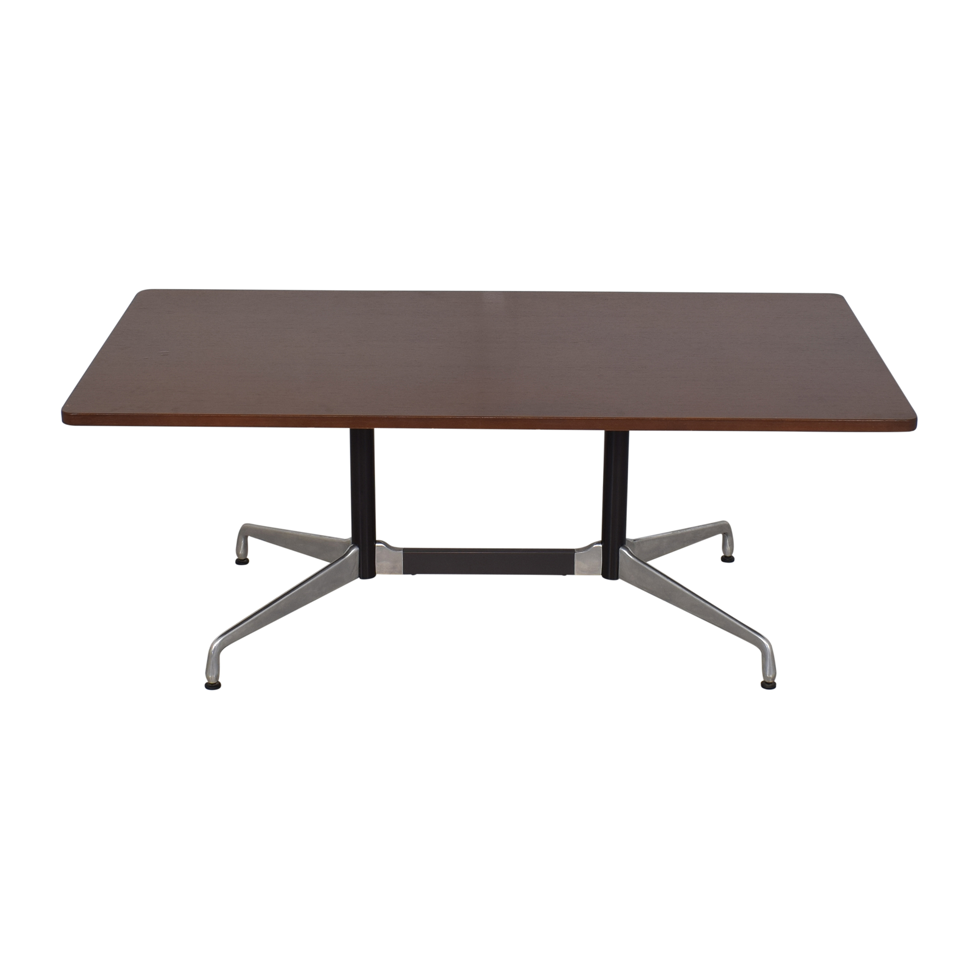 Herman Miller Herman Millier Eames Table with Rectangular Top and Segmented Base Tables