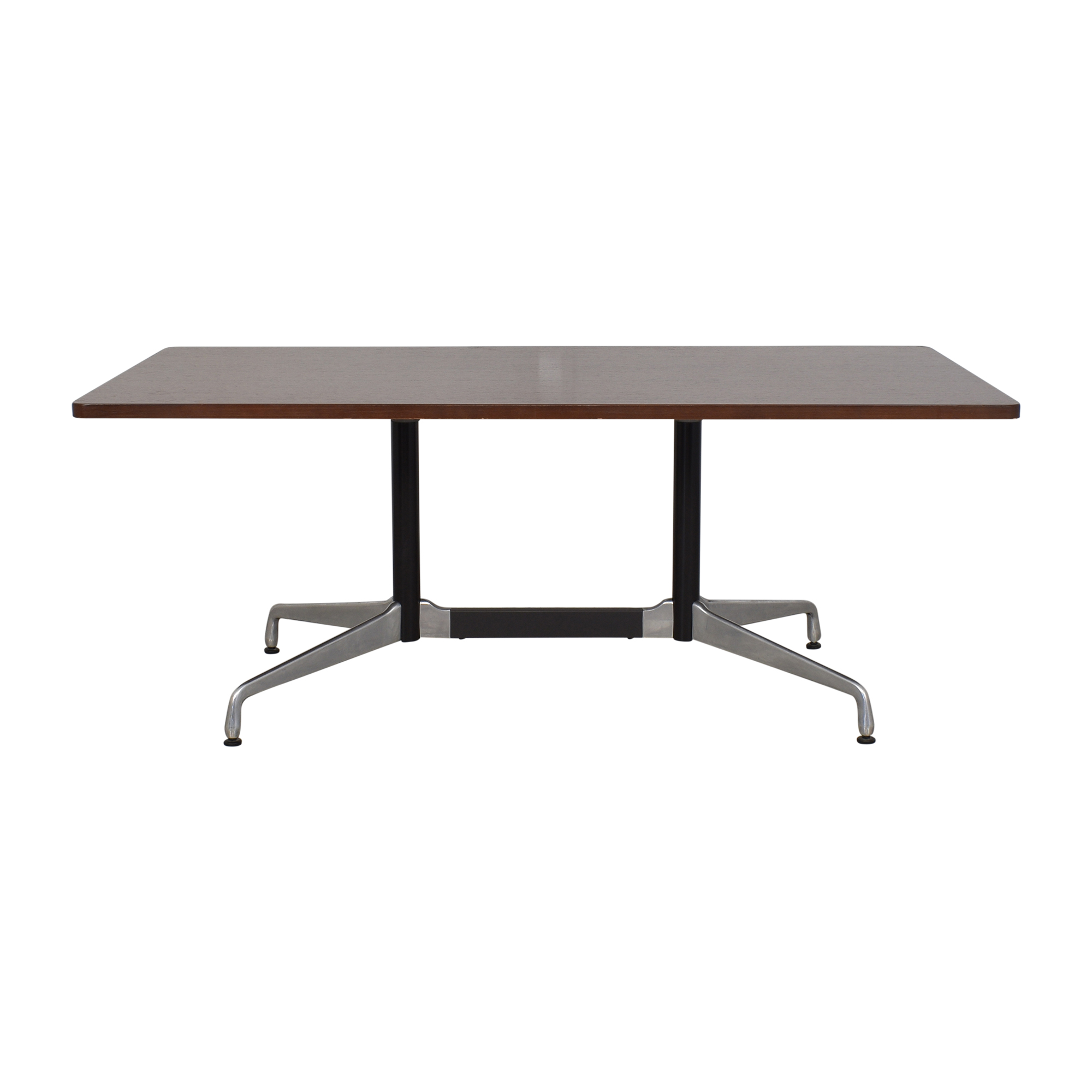 Herman Miller Herman Millier Eames Table with Rectangular Top and Segmented Base coupon