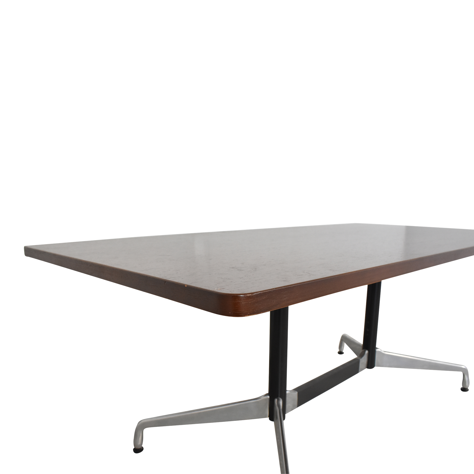 Herman Miller Herman Millier Eames Table with Rectangular Top and Segmented Base dimensions