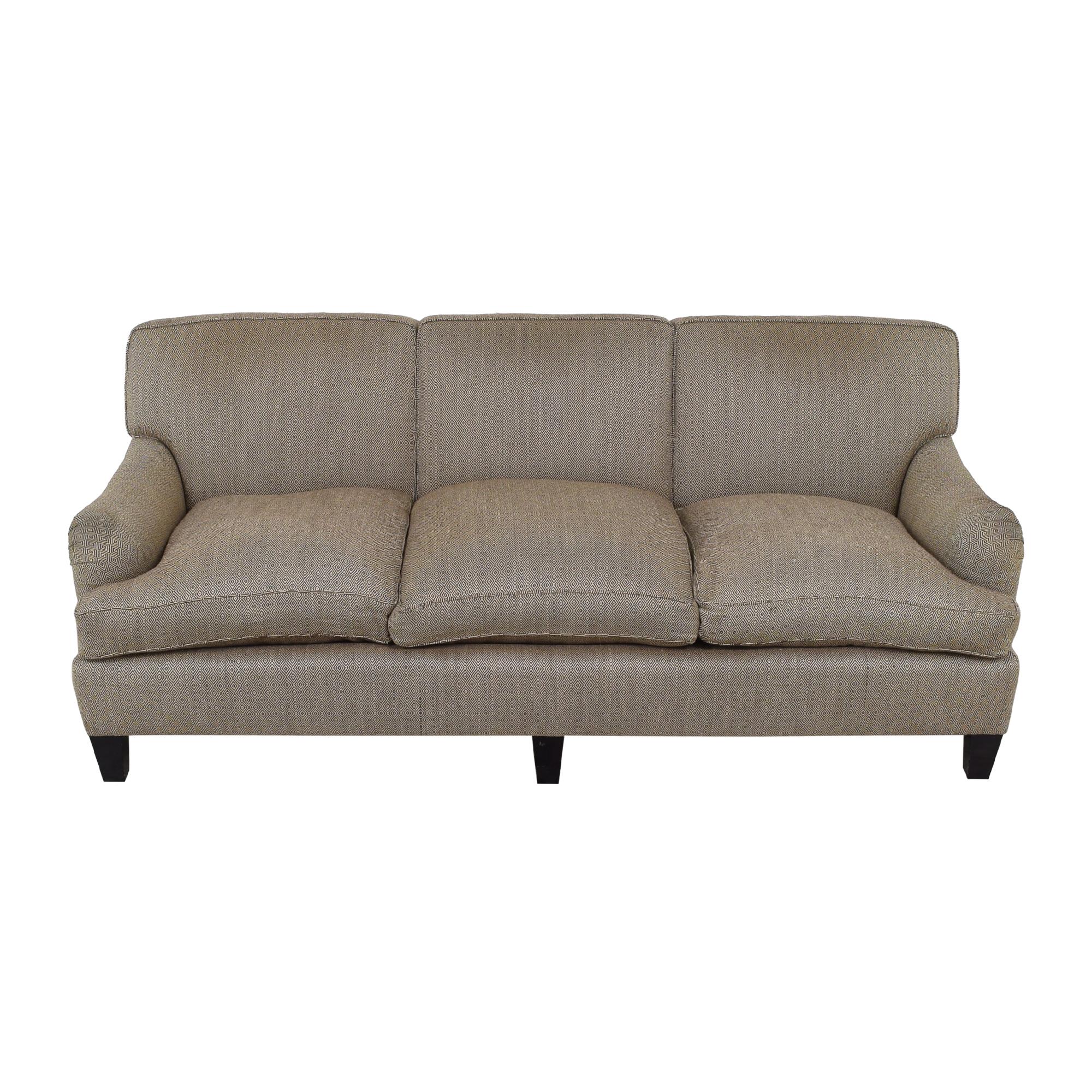Custom Bridgewater Sofa brown